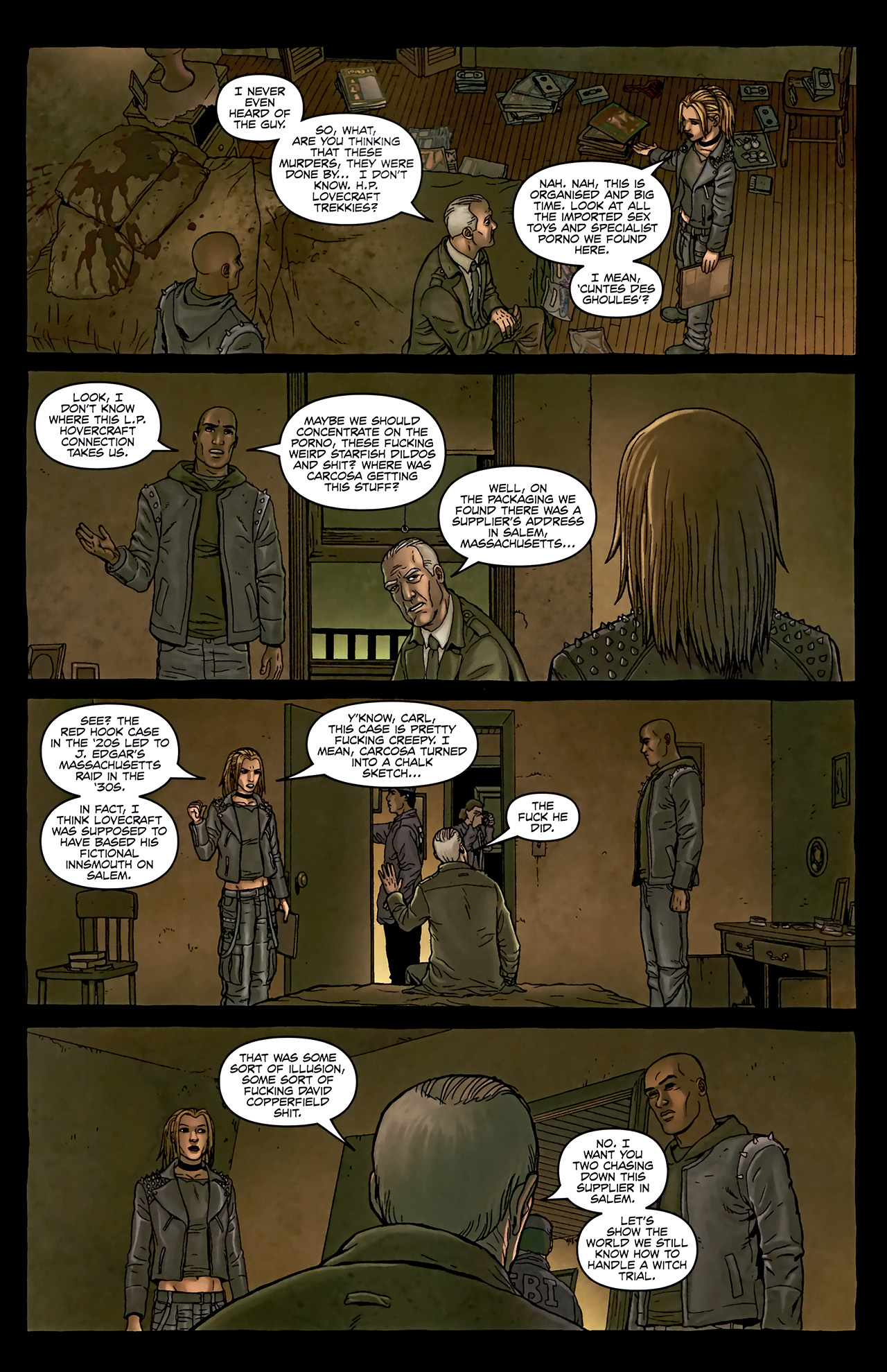 Read online Alan Moore's Neonomicon comic -  Issue #2 - 9