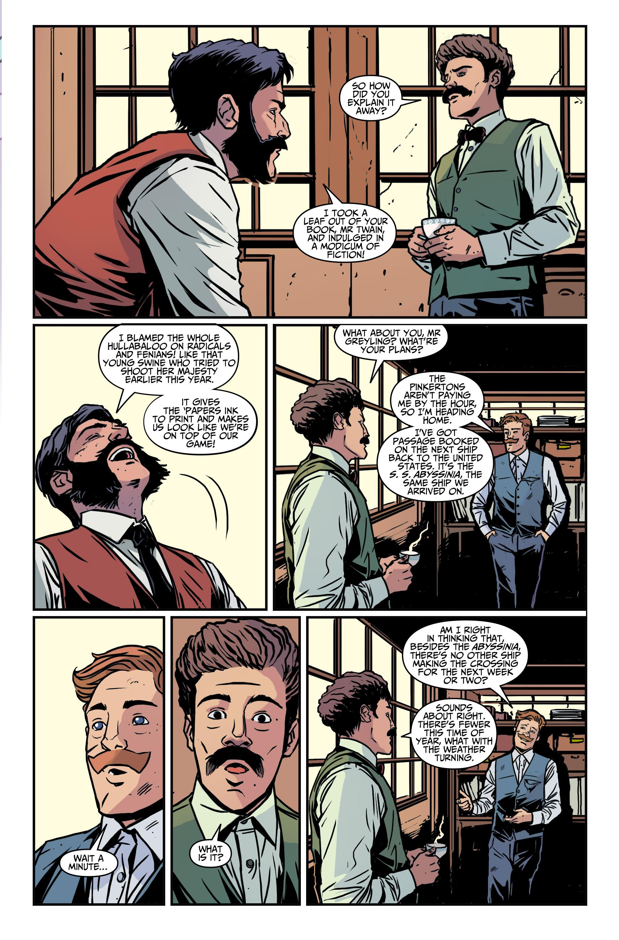 Read online Assassin's Creed: Locus comic -  Issue #4 - 19
