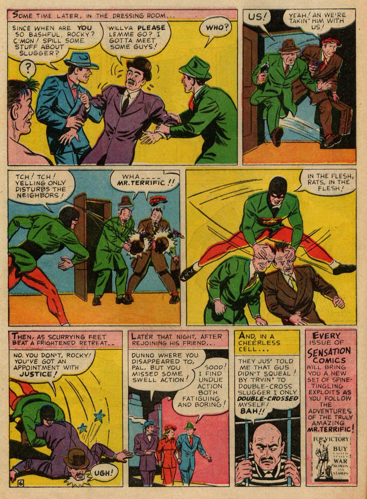 Read online Sensation (Mystery) Comics comic -  Issue #22 - 47