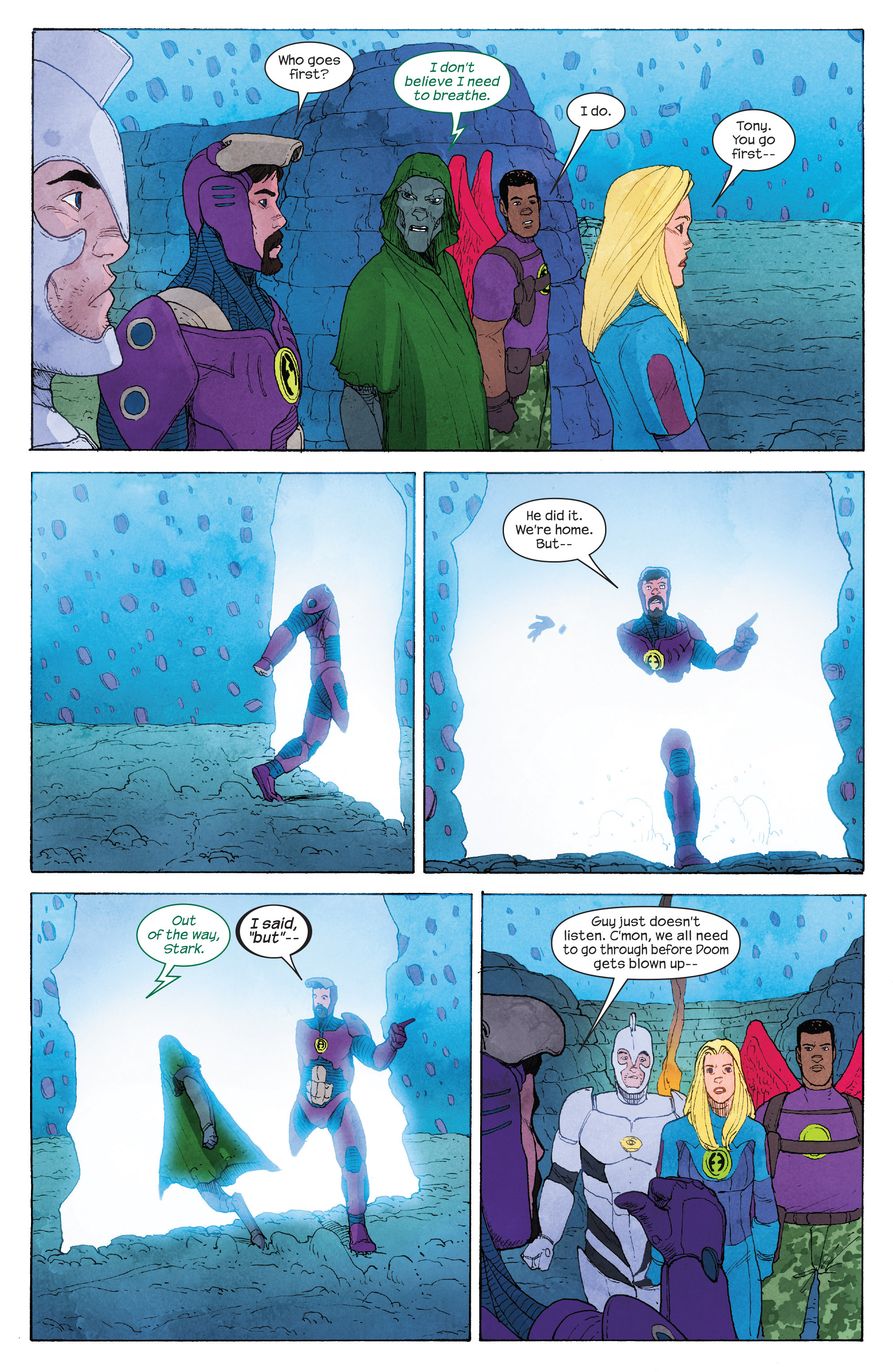 Read online Ultimate FF comic -  Issue #4 - 12