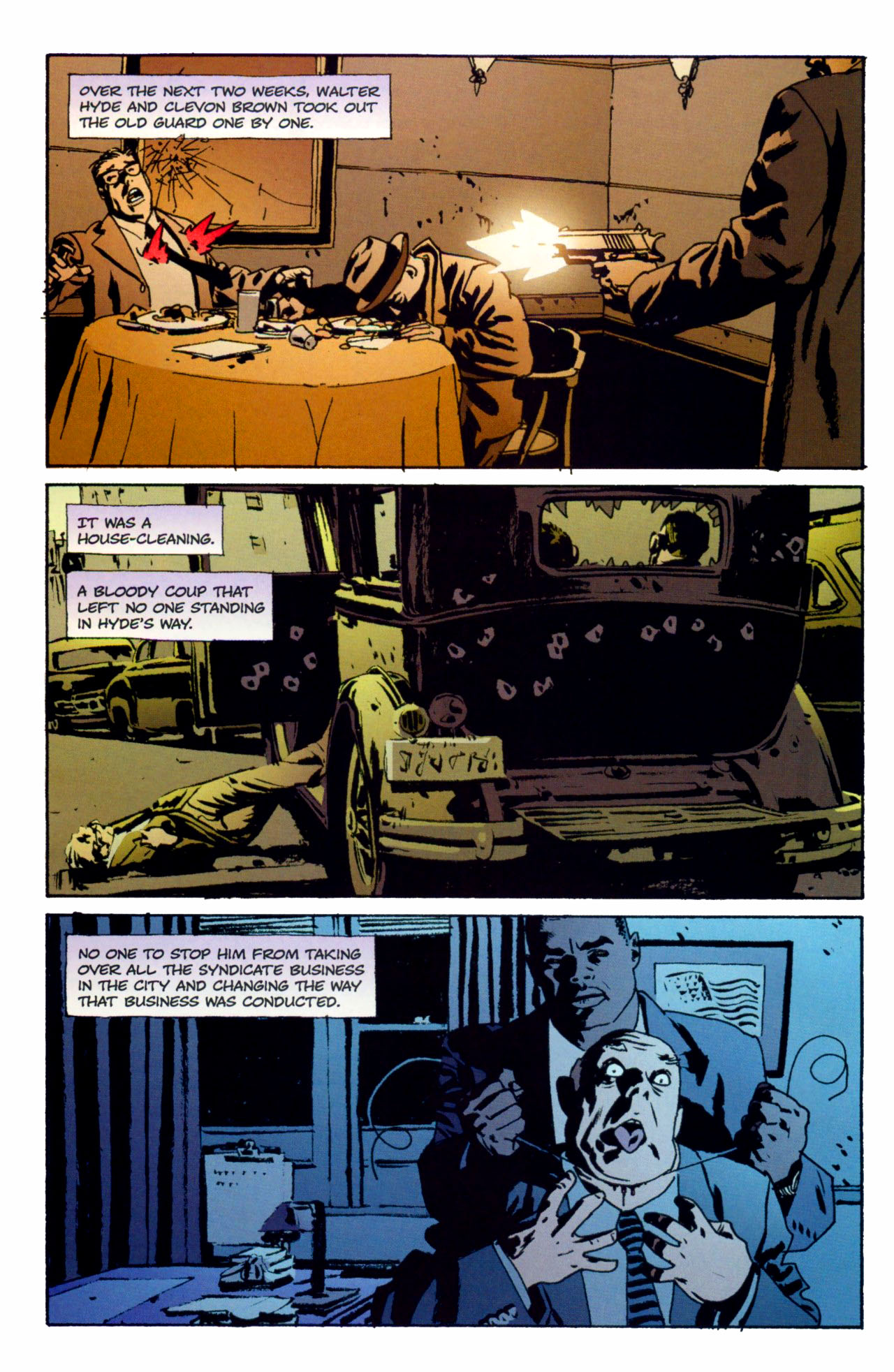 Read online Criminal (2008) comic -  Issue #1 - 5