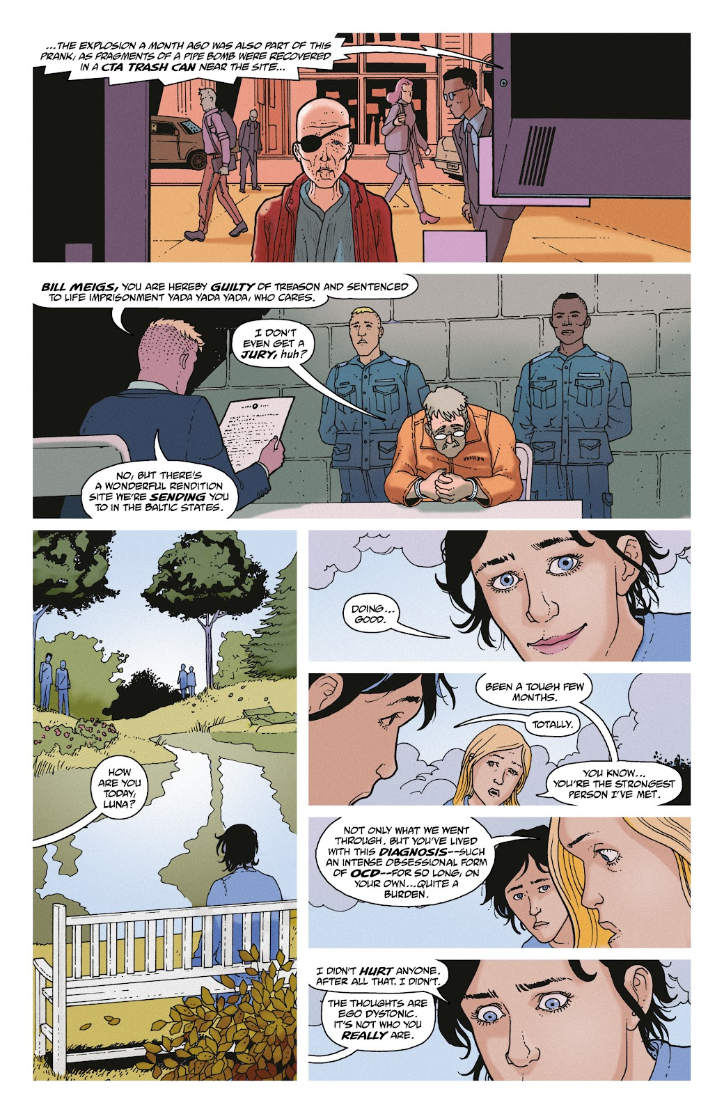 Read online She Could Fly comic -  Issue # _TPB - 139