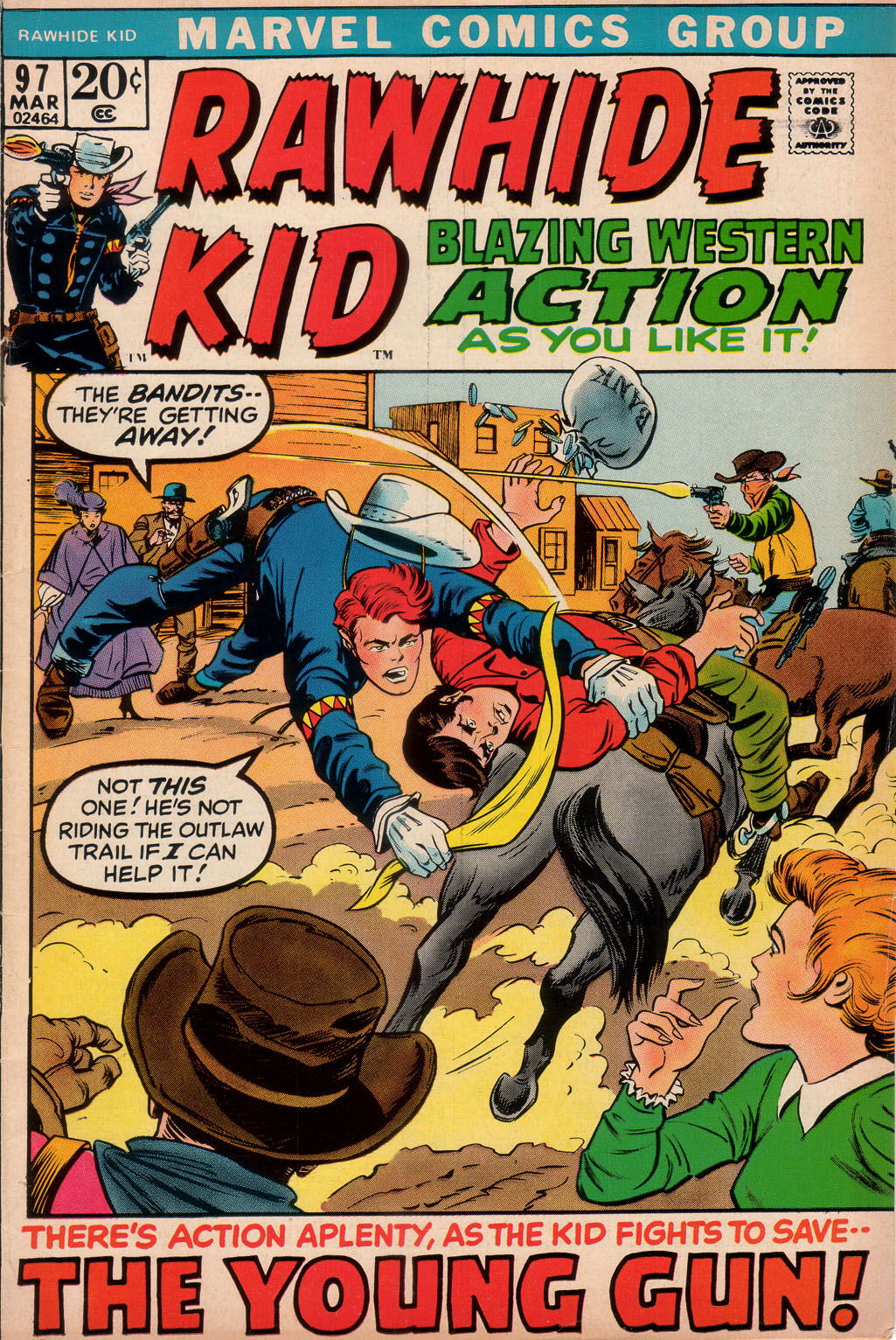 The Rawhide Kid (1955) 97 Page 1