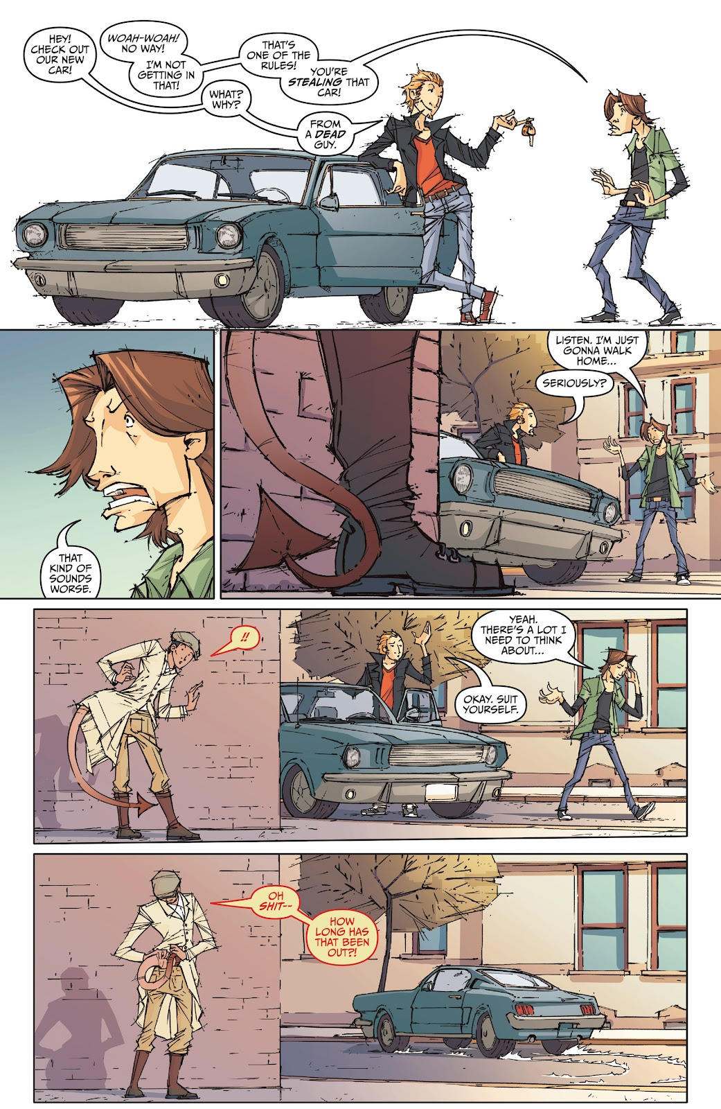 Read online The End Times of Bram and Ben comic -  Issue #1 - 12