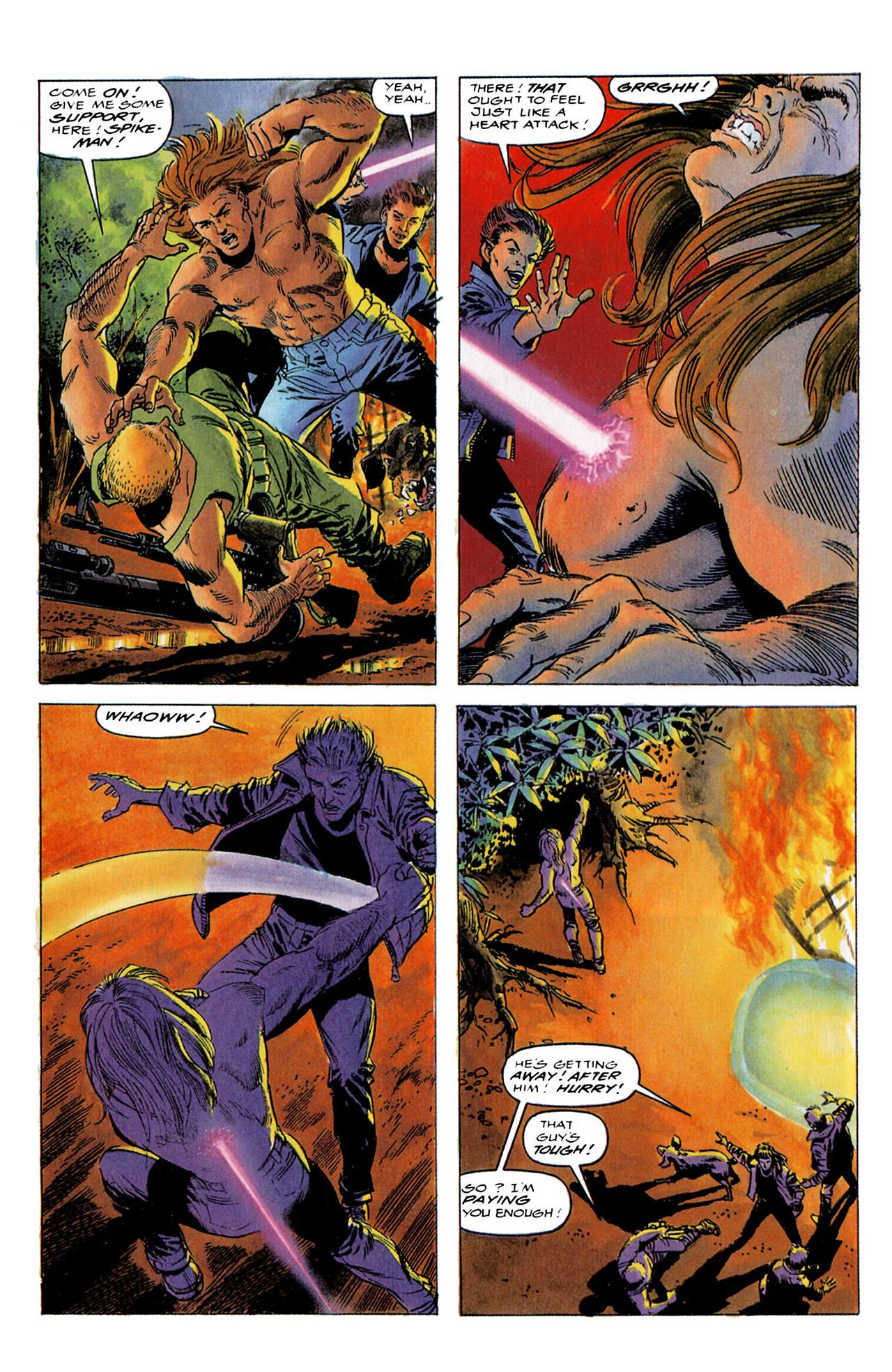 Read online Harbinger (1992) comic -  Issue #4 - 16