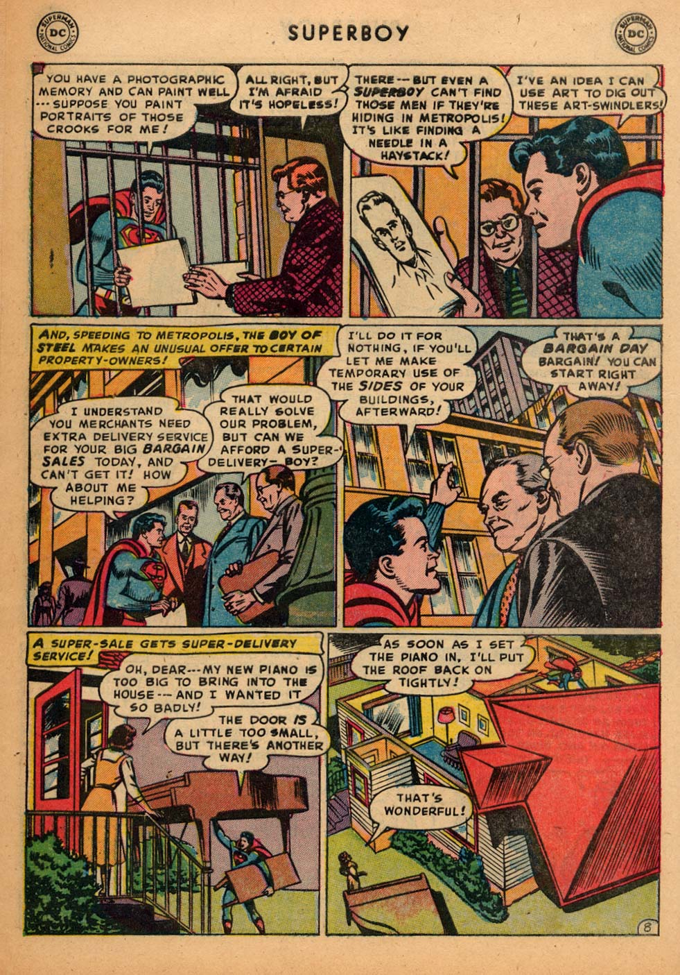 Superboy (1949) issue 25 - Page 9