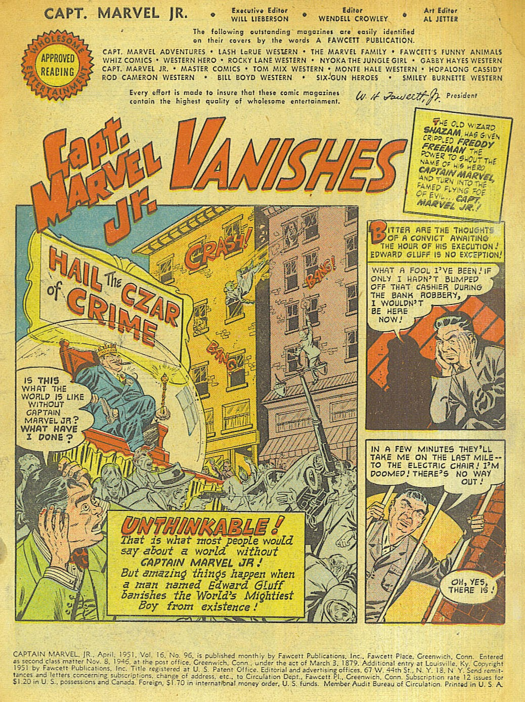 Captain Marvel, Jr. issue 96 - Page 3