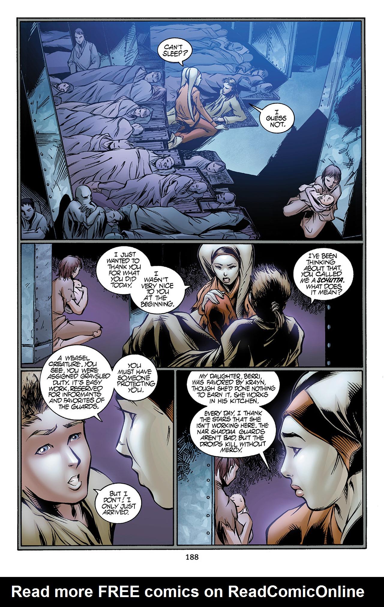 Read online Star Wars Omnibus comic -  Issue # Vol. 10 - 187