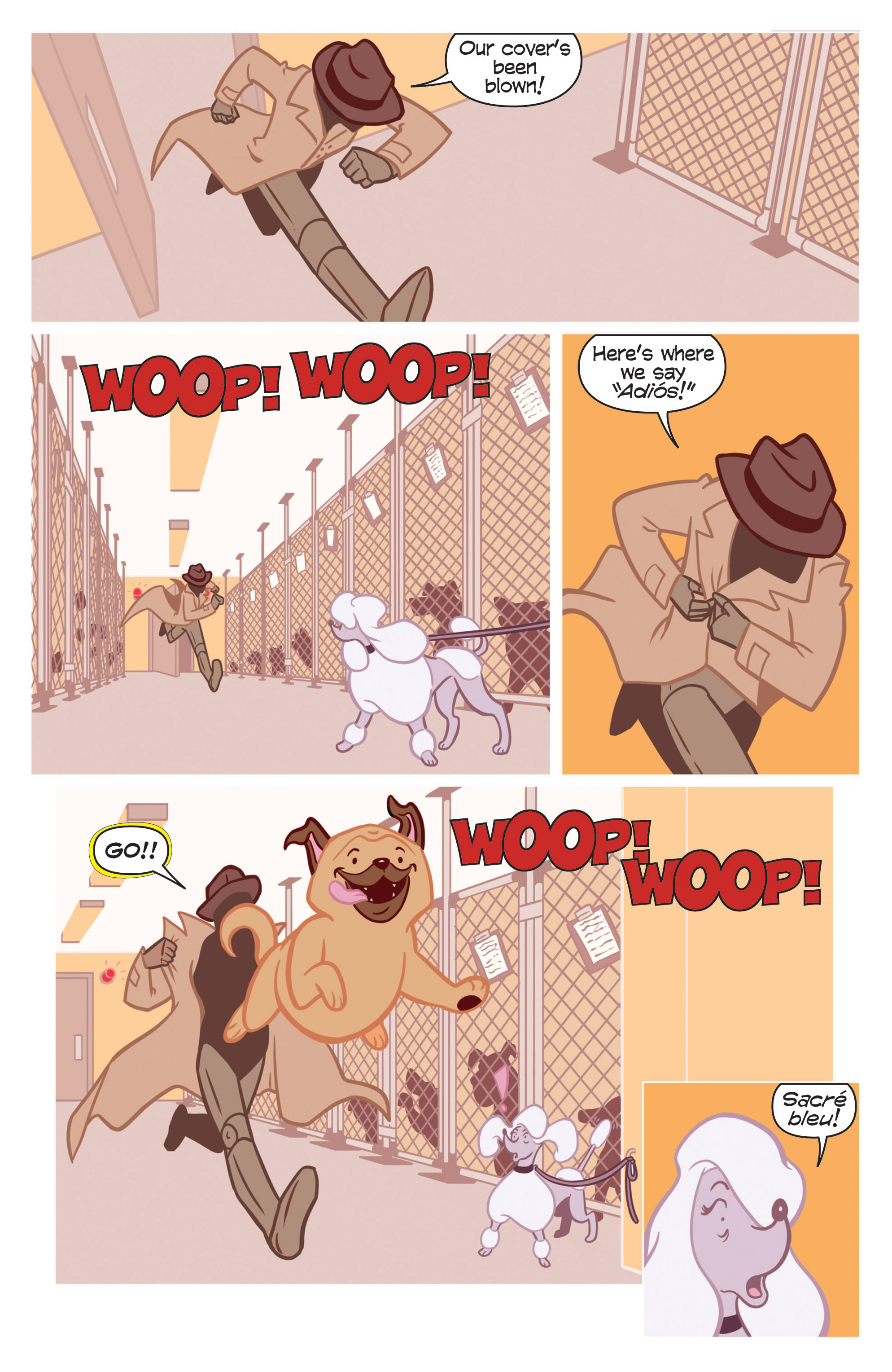 Read online Action Lab, Dog of Wonder comic -  Issue #1 - 13