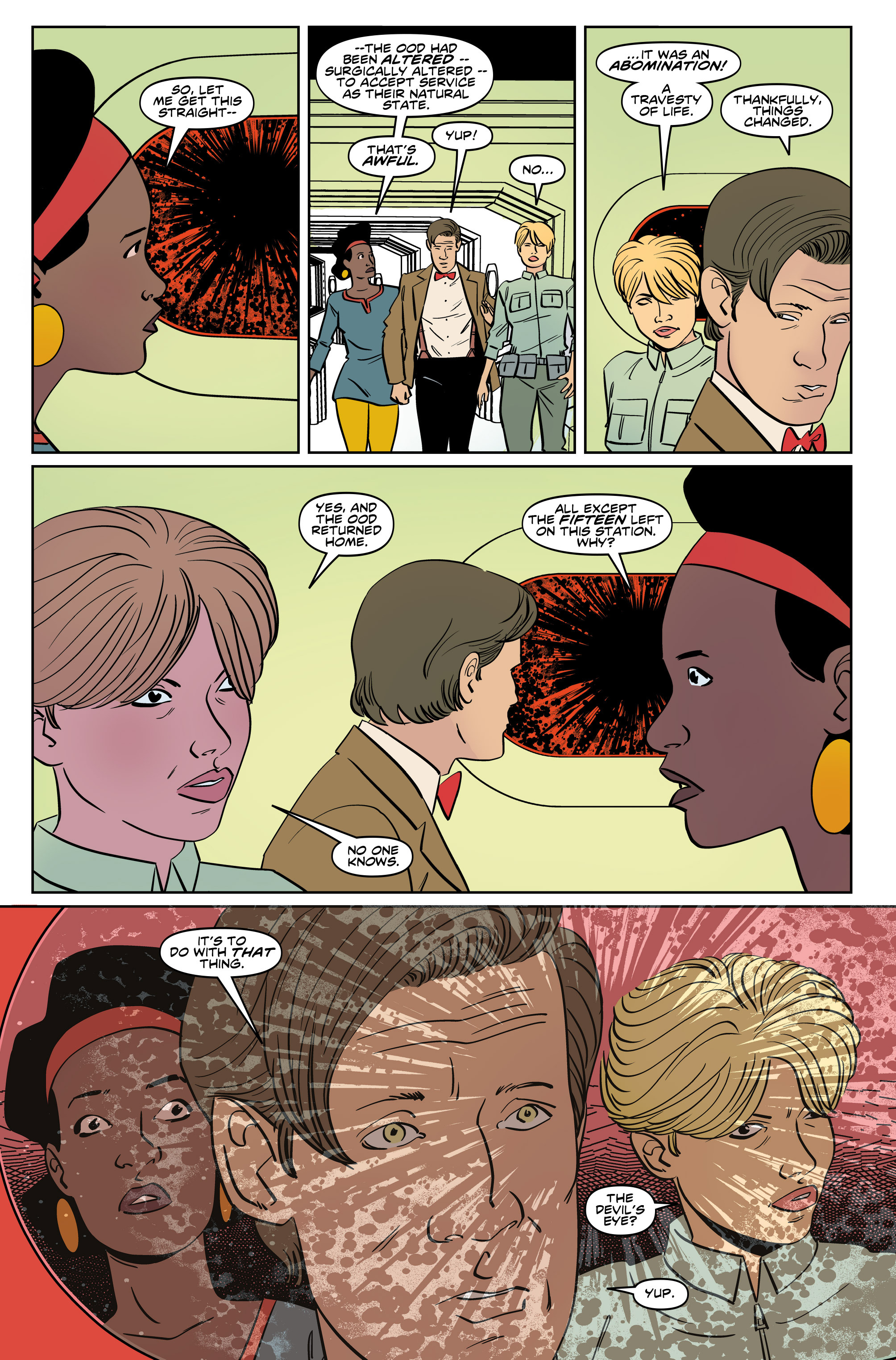Read online Doctor Who: The Eleventh Doctor Year Three comic -  Issue #5 - 15