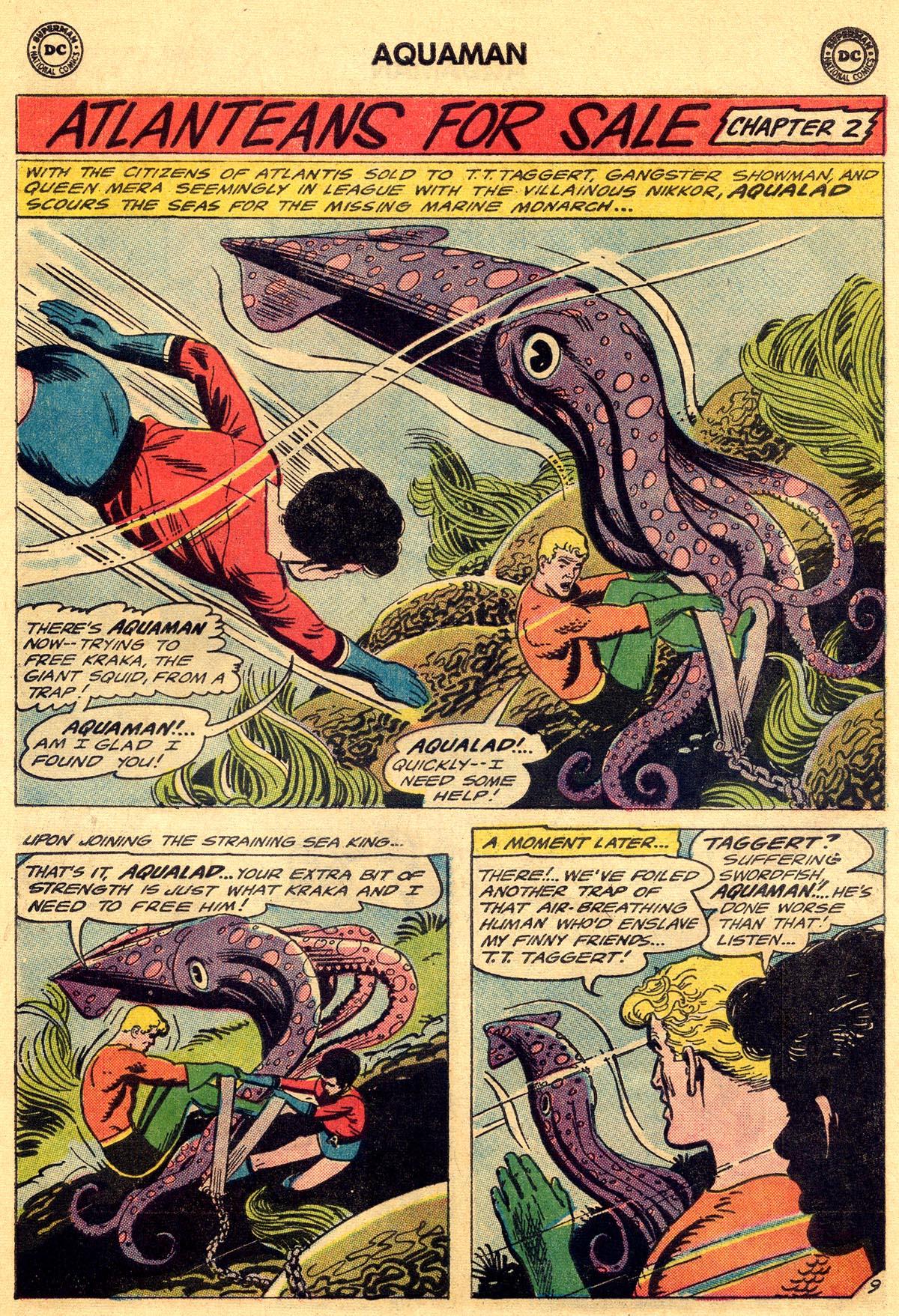 Read online Aquaman (1962) comic -  Issue #19 - 13
