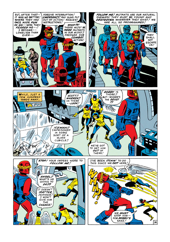 Read online Uncanny X-Men (1963) comic -  Issue #15 - 15