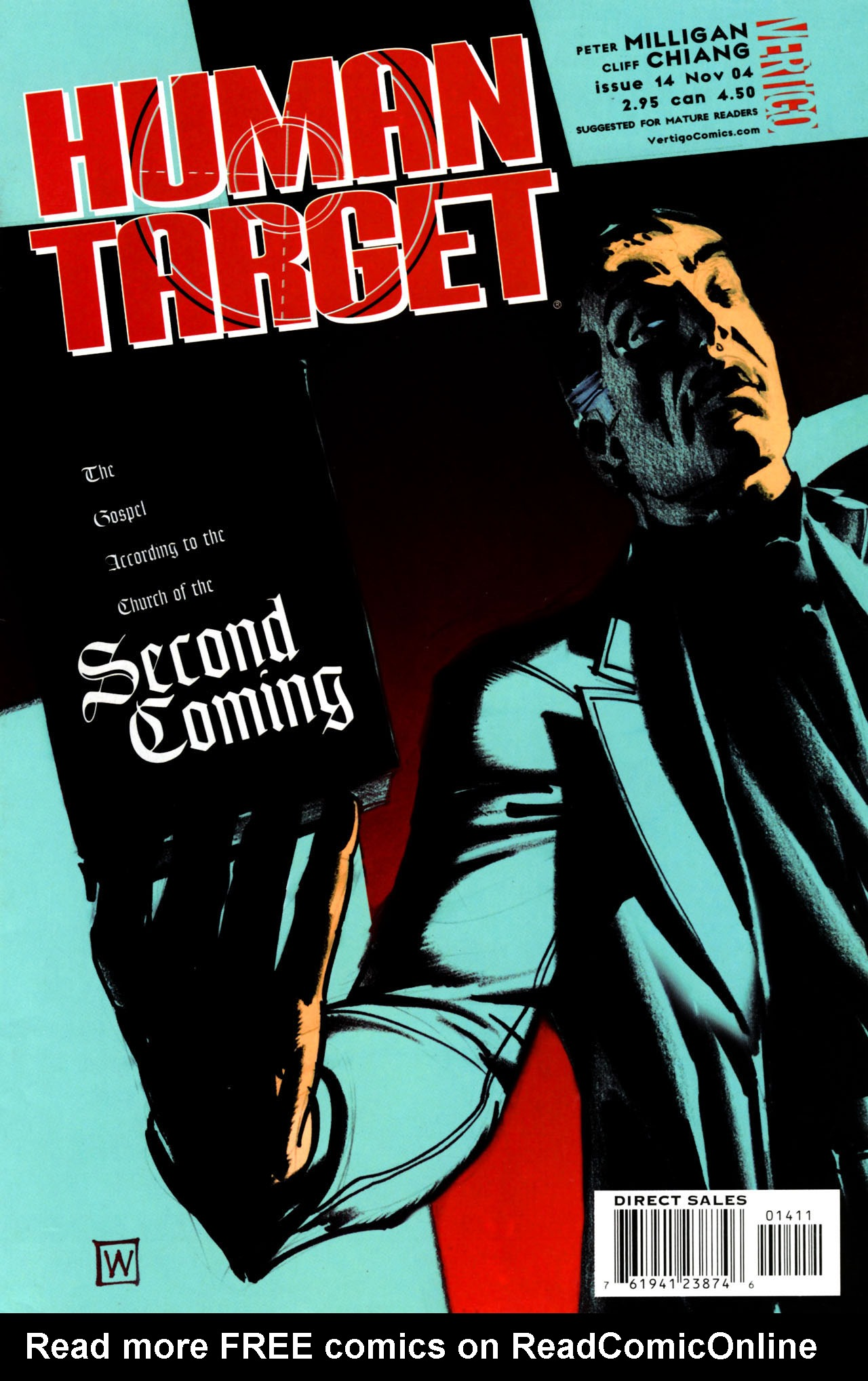 Human Target (2003) issue 14 - Page 1
