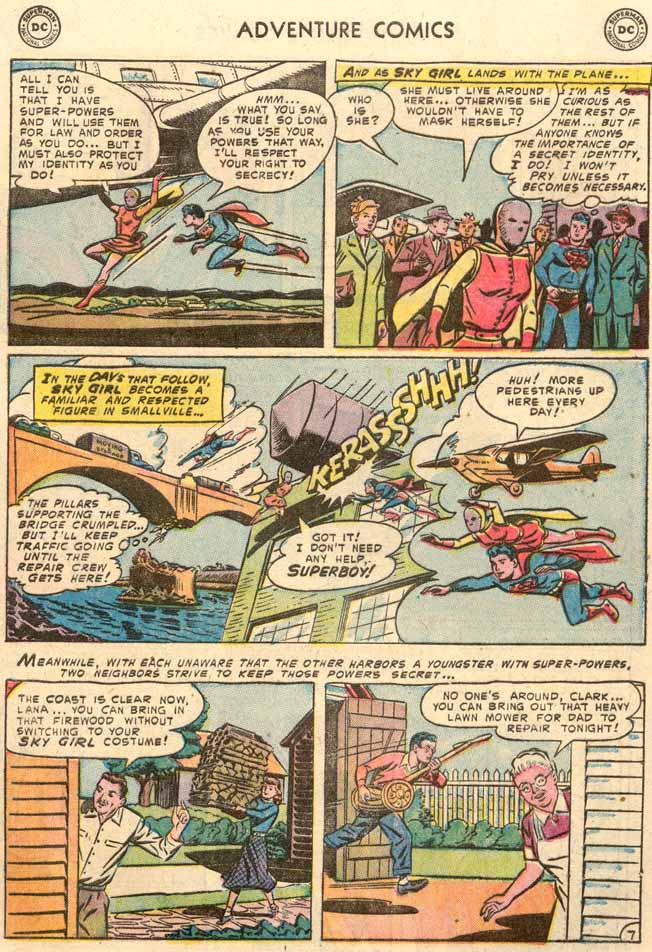 Read online Adventure Comics (1938) comic -  Issue #189 - 9