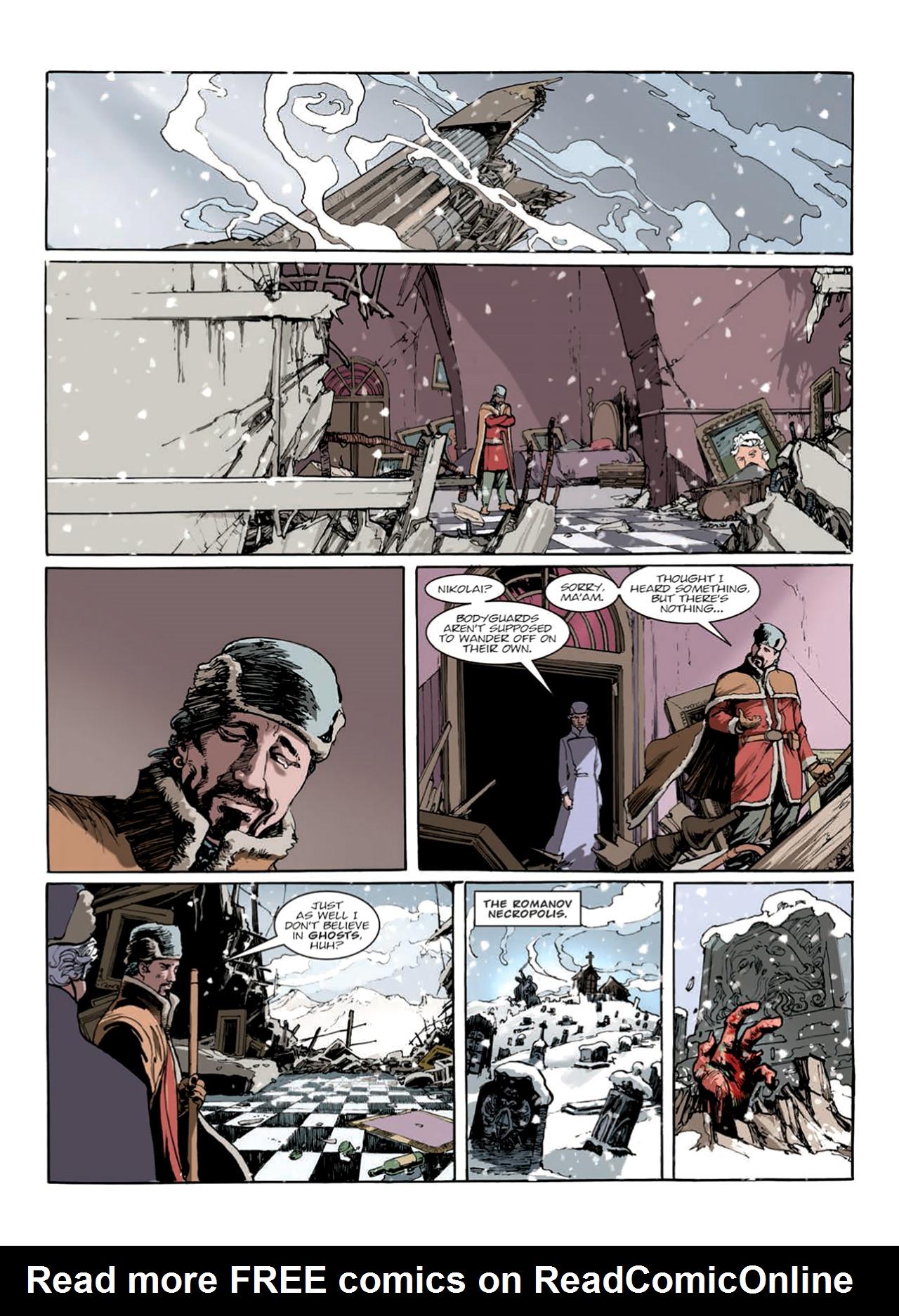 Read online Nikolai Dante comic -  Issue # TPB 9 - 148