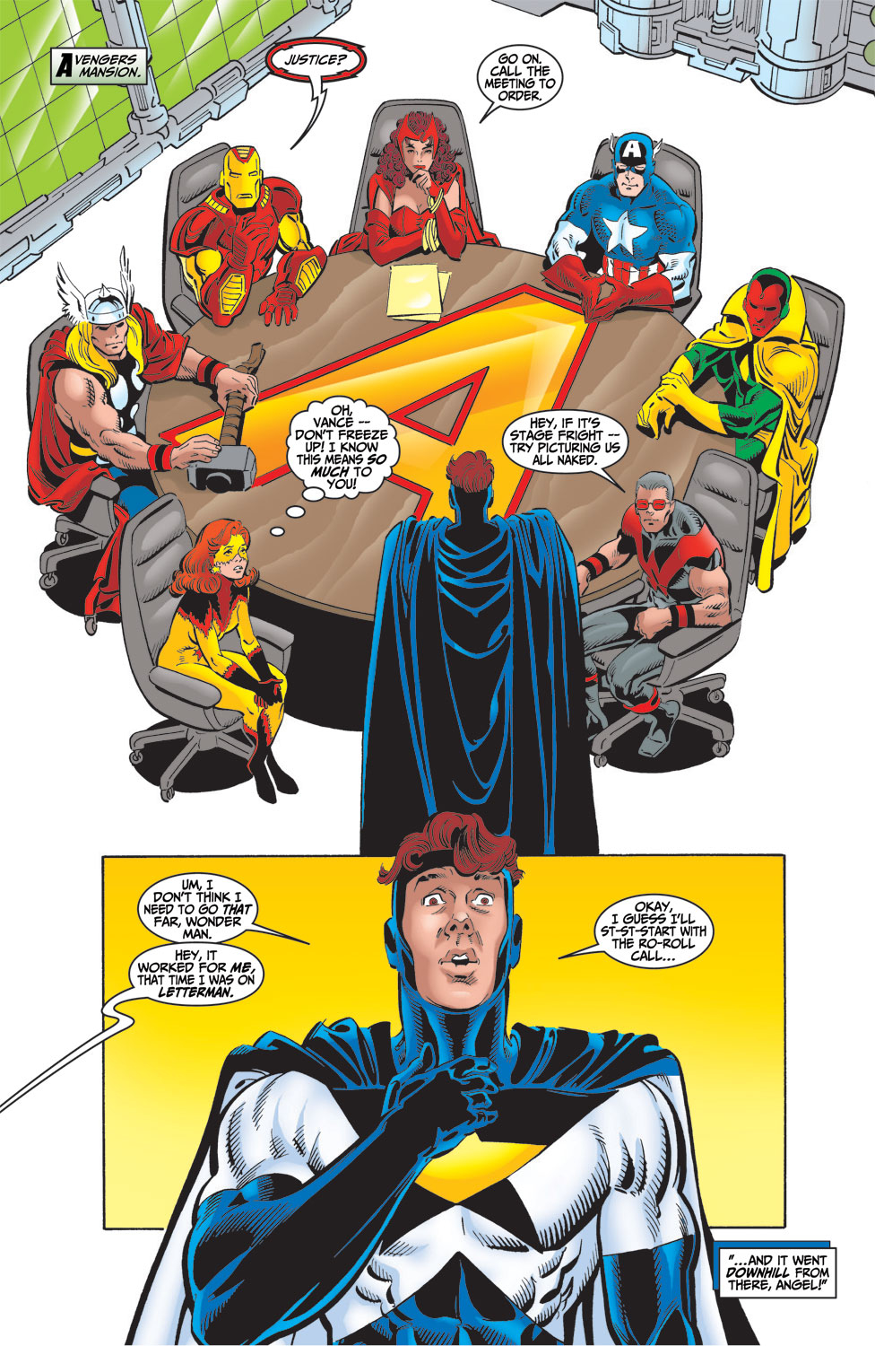 Read online Avengers (1998) comic -  Issue #16 - 7