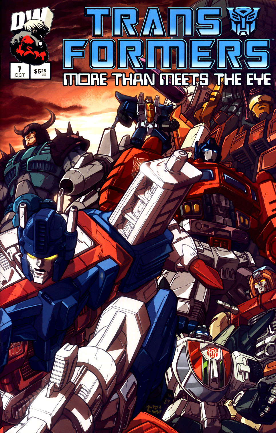 Read online Transformers: More than Meets the Eye comic -  Issue #7 - 1