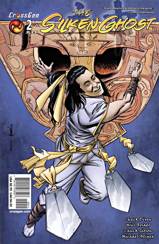 Read online Silken Ghost comic -  Issue #2 - 1