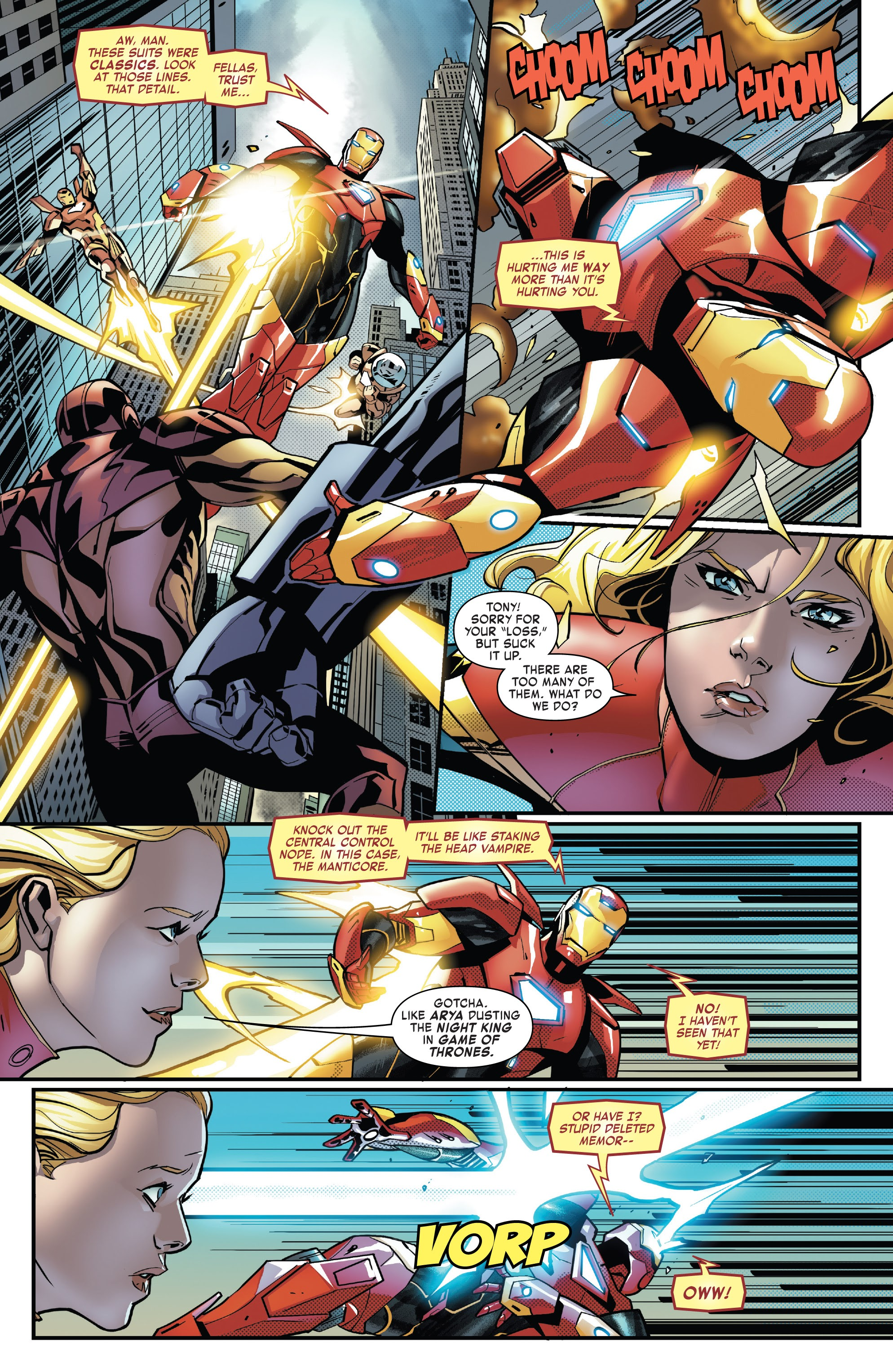Read online Tony Stark: Iron Man comic -  Issue #14 - 18