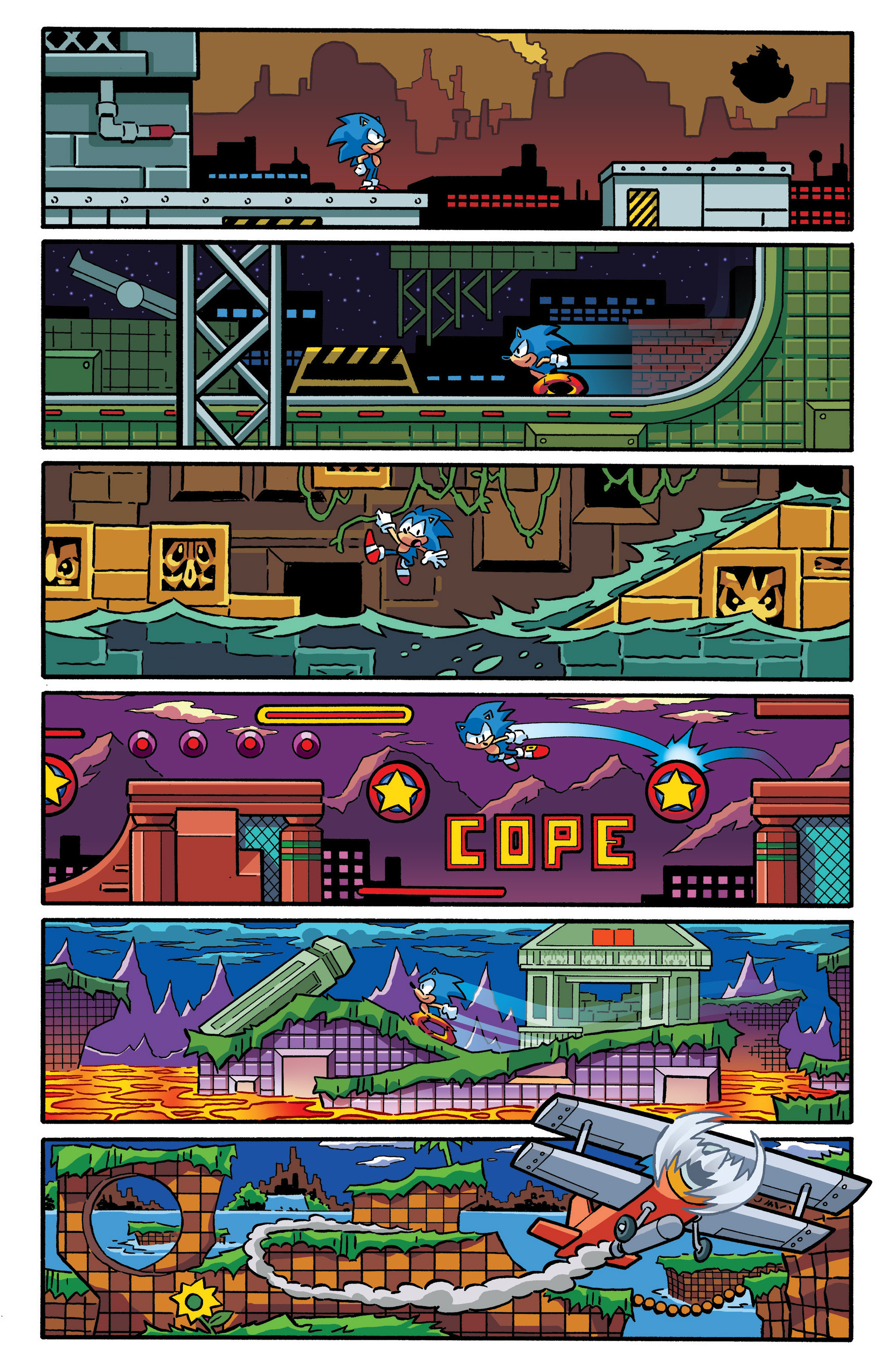 Read online Sonic The Hedgehog comic -  Issue #288 - 16