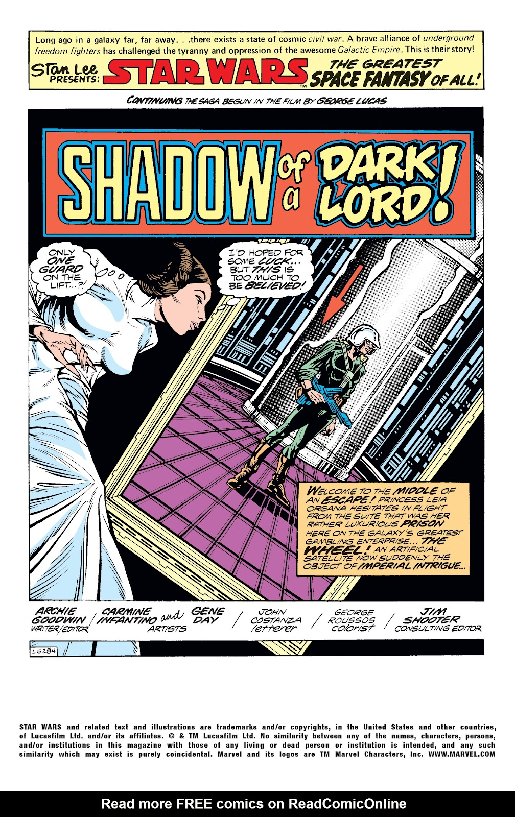Read online Star Wars Legends: The Original Marvel Years - Epic Collection comic -  Issue # TPB 1 (Part 4) - 69