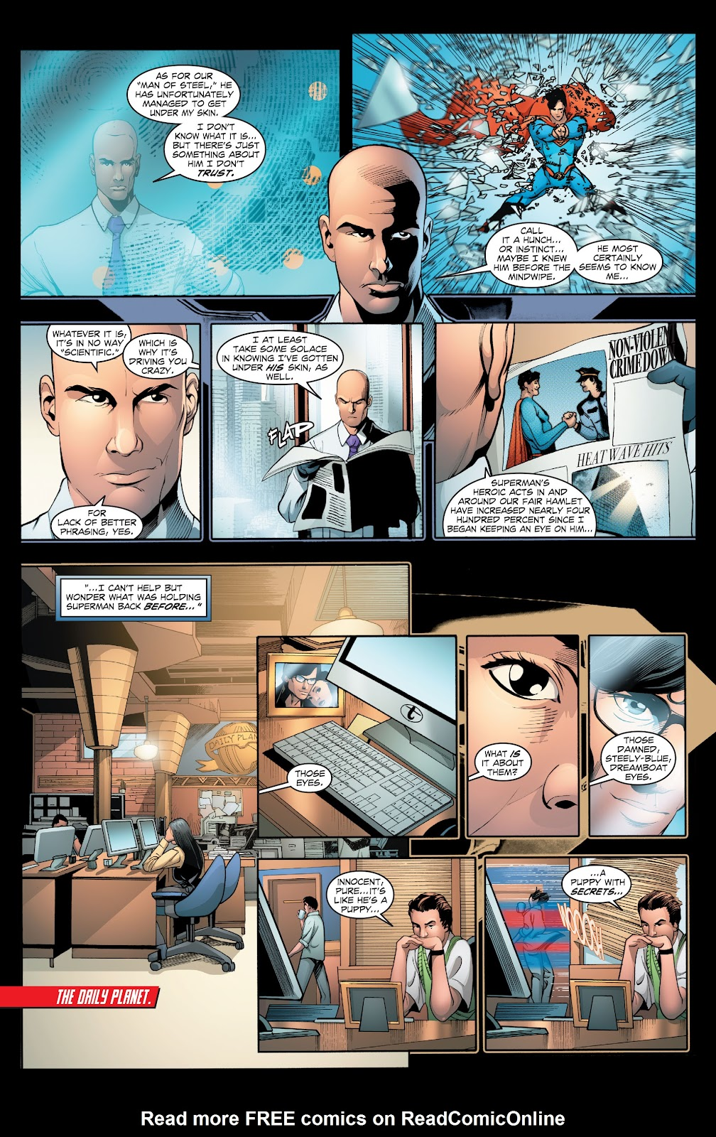 Read online Smallville Season 11 [II] comic -  Issue # TPB 2 - 19