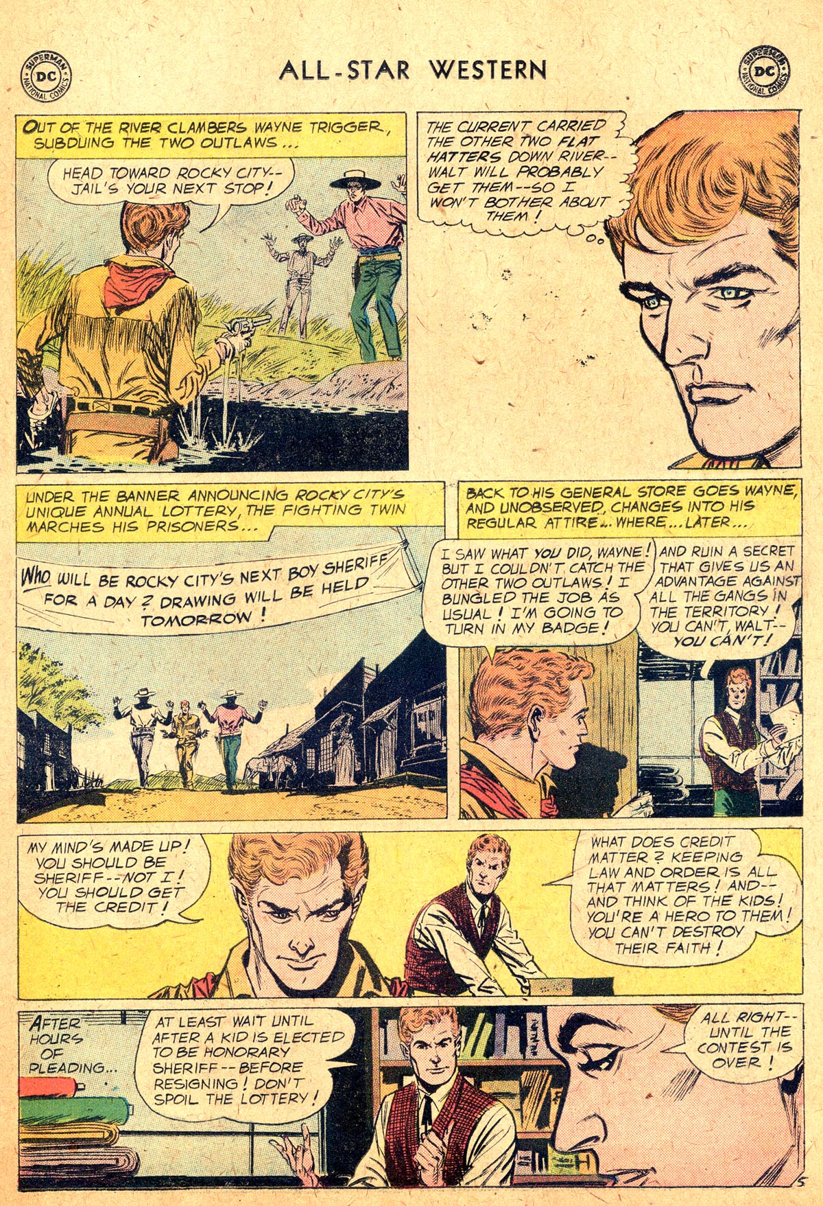 Read online All-Star Western (1951) comic -  Issue #104 - 7