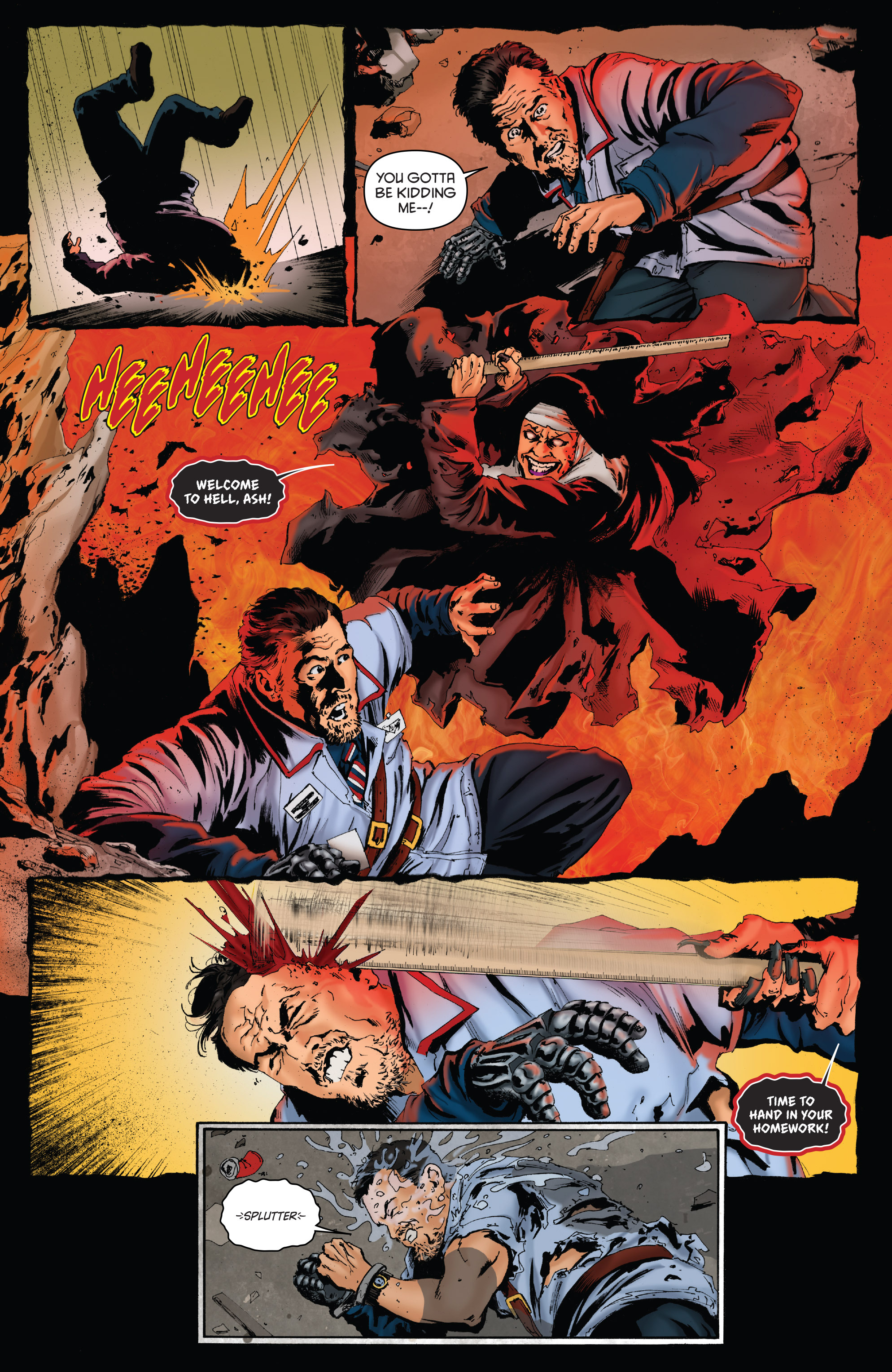 Read online Army of Darkness: Furious Road comic -  Issue #2 - 4
