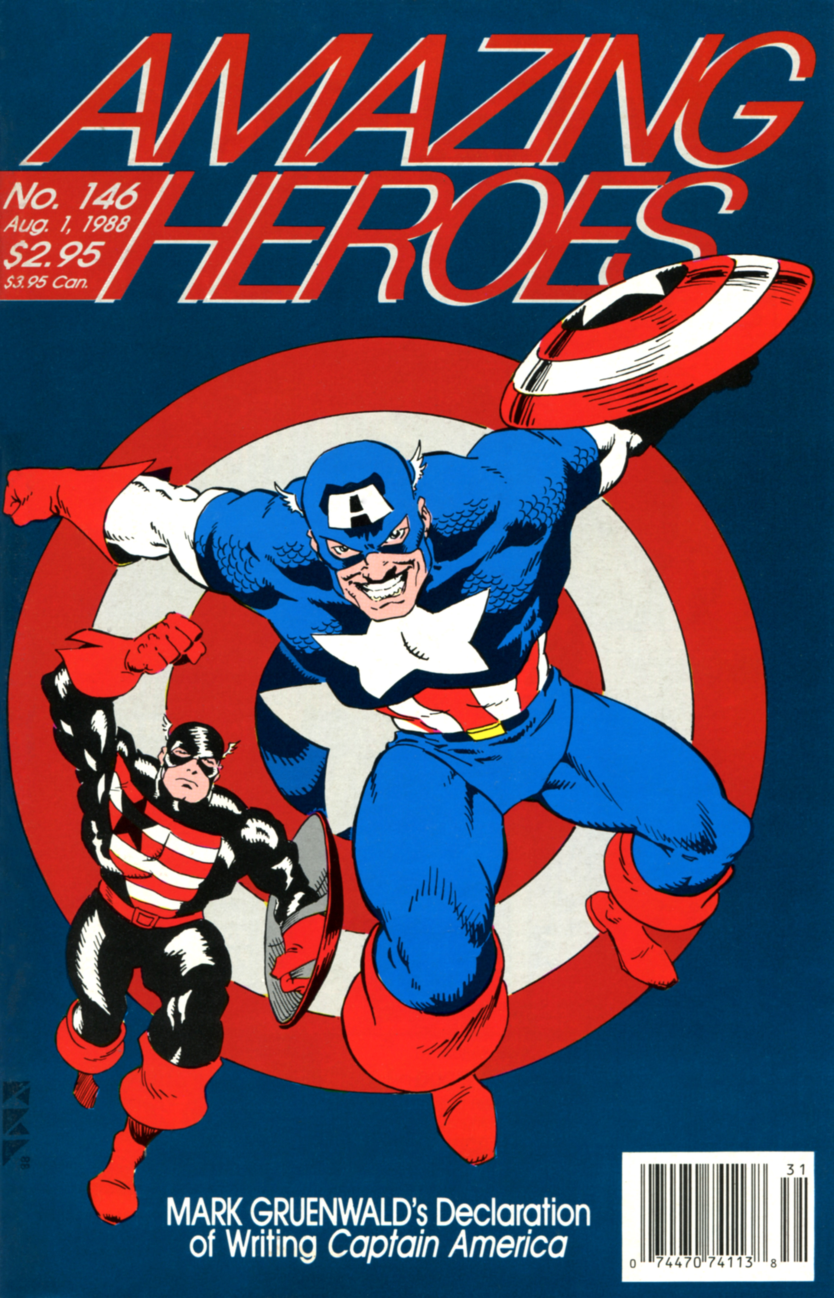 Read online Amazing Heroes comic -  Issue #146 - 1