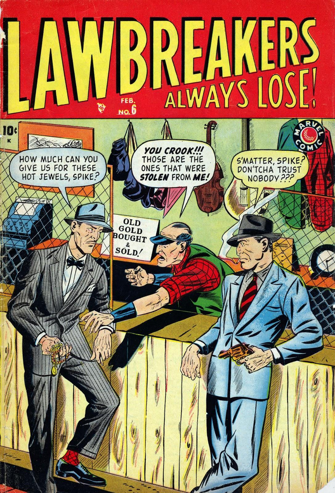 Lawbreakers Always Lose! 6 Page 1