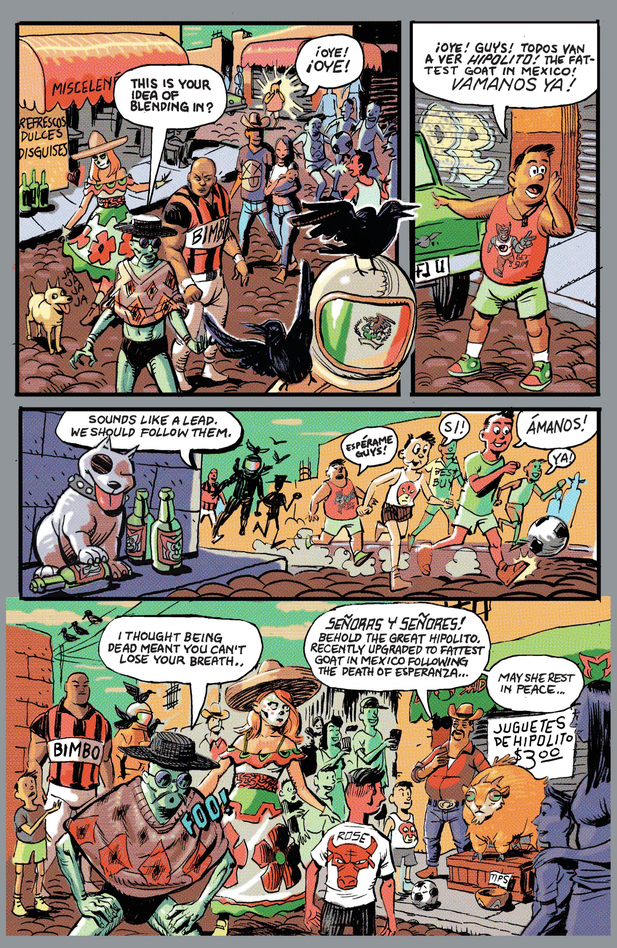 Read online Hoax Hunters (2012) comic -  Issue # TPB 2 - 107