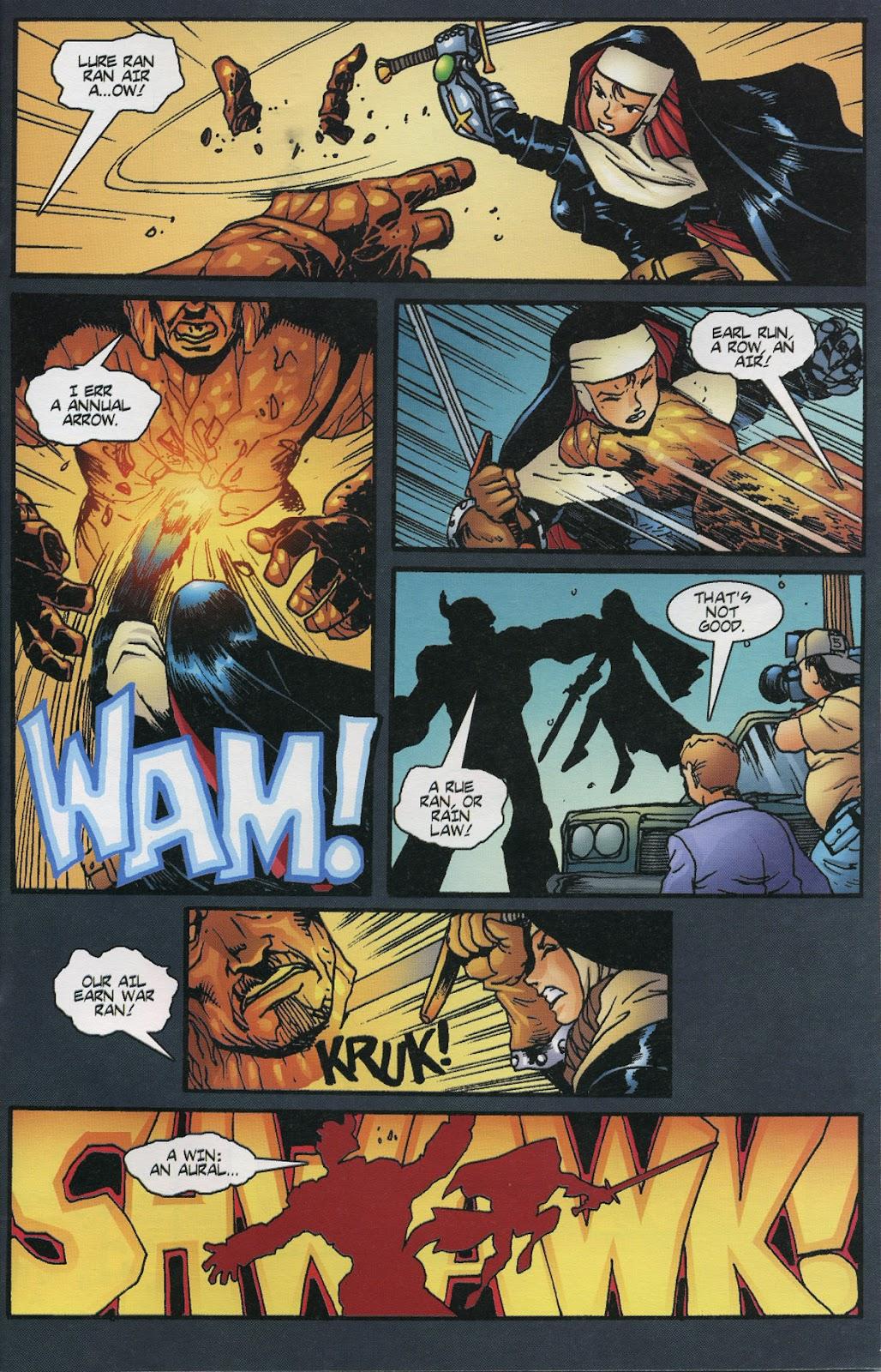 Warrior Nun Areala (1997) Issue #6 #6 - English 21