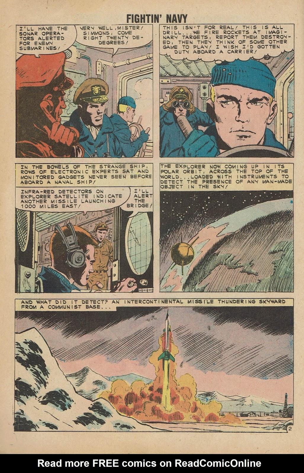 Read online Fightin' Navy comic -  Issue #98 - 4