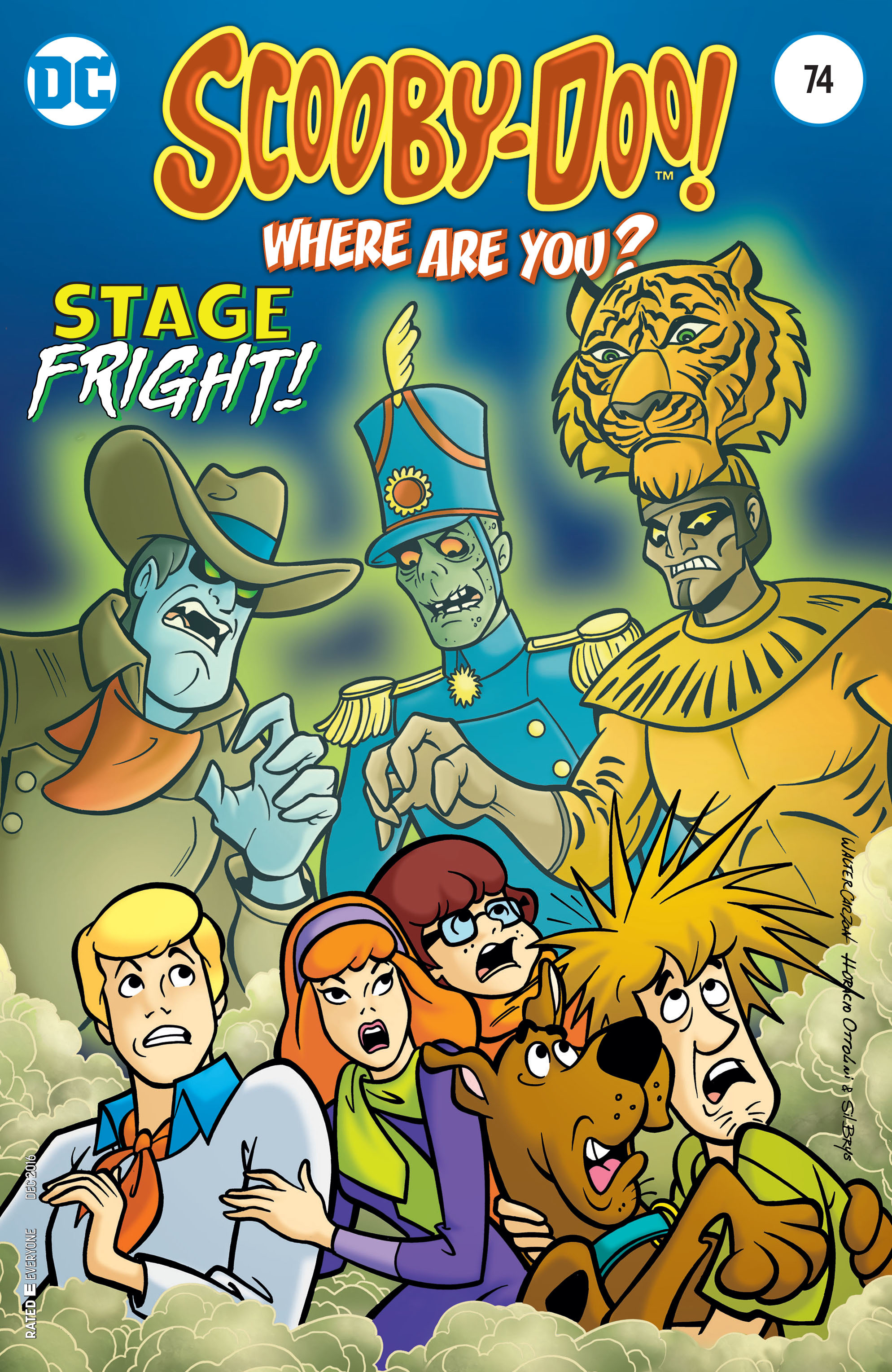 Read online Scooby-Doo: Where Are You? comic -  Issue #74 - 1