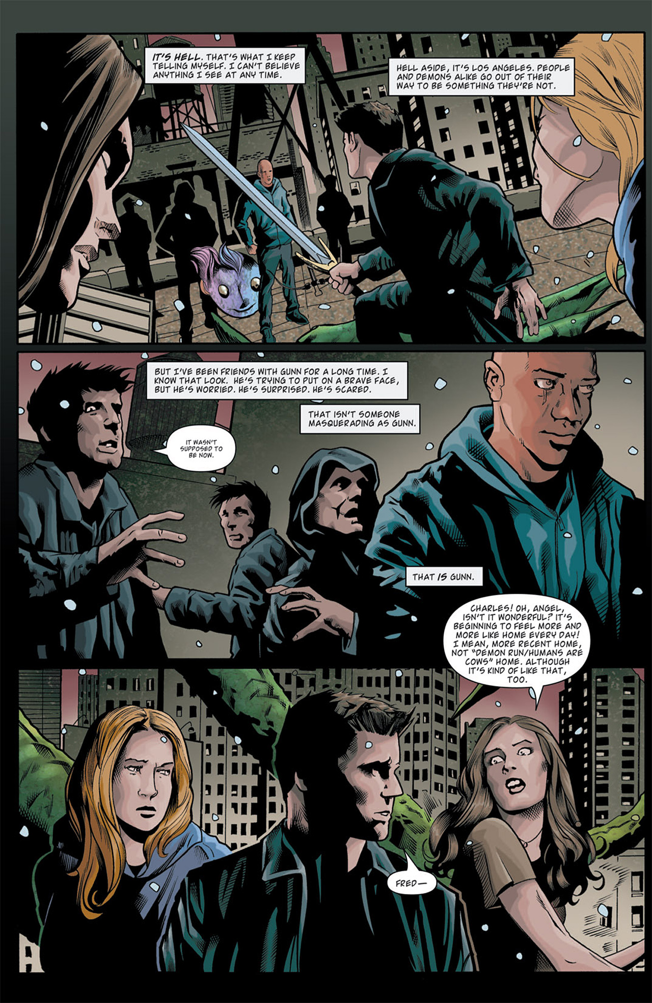 Read online Angel: After The Fall comic -  Issue #11 - 4