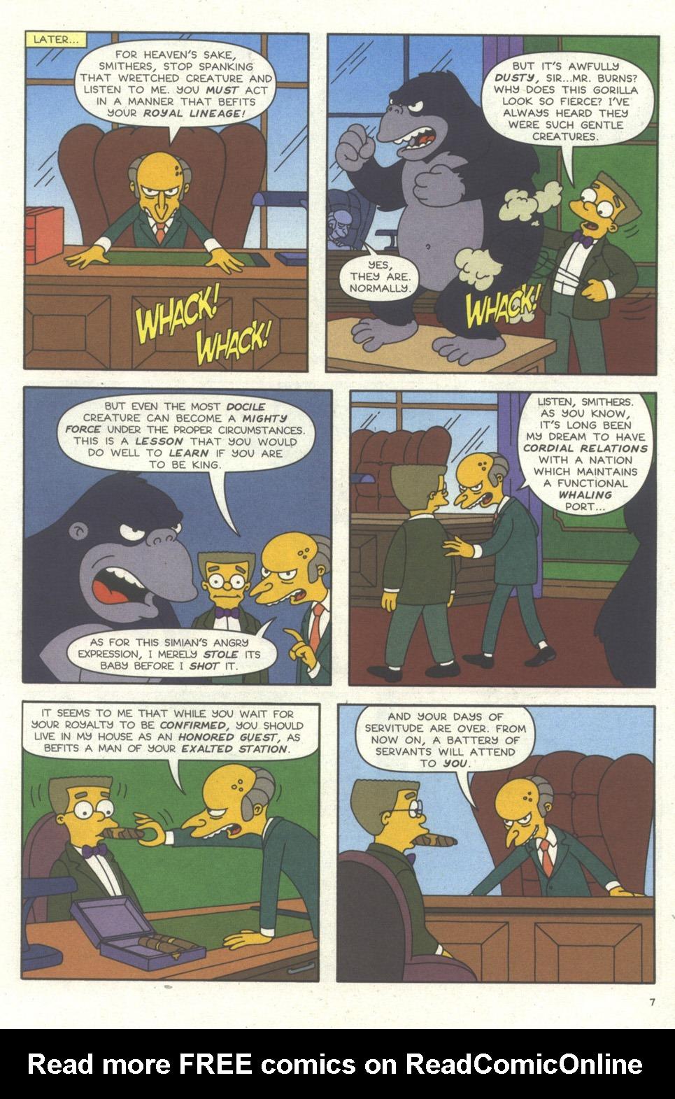 Read online Simpsons Comics comic -  Issue #56 - 8