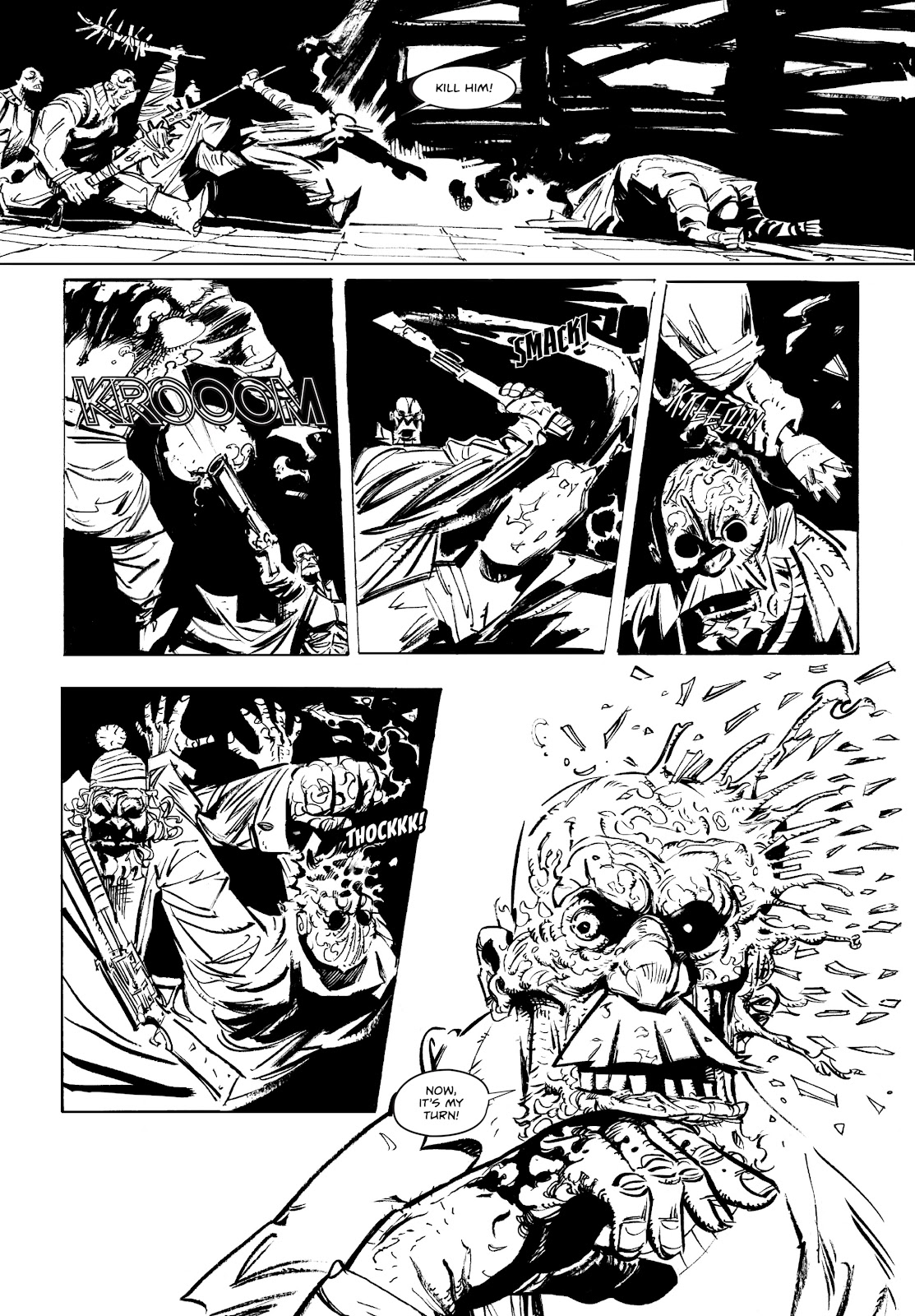 Read online Wrath of God comic -  Issue #1 - 17