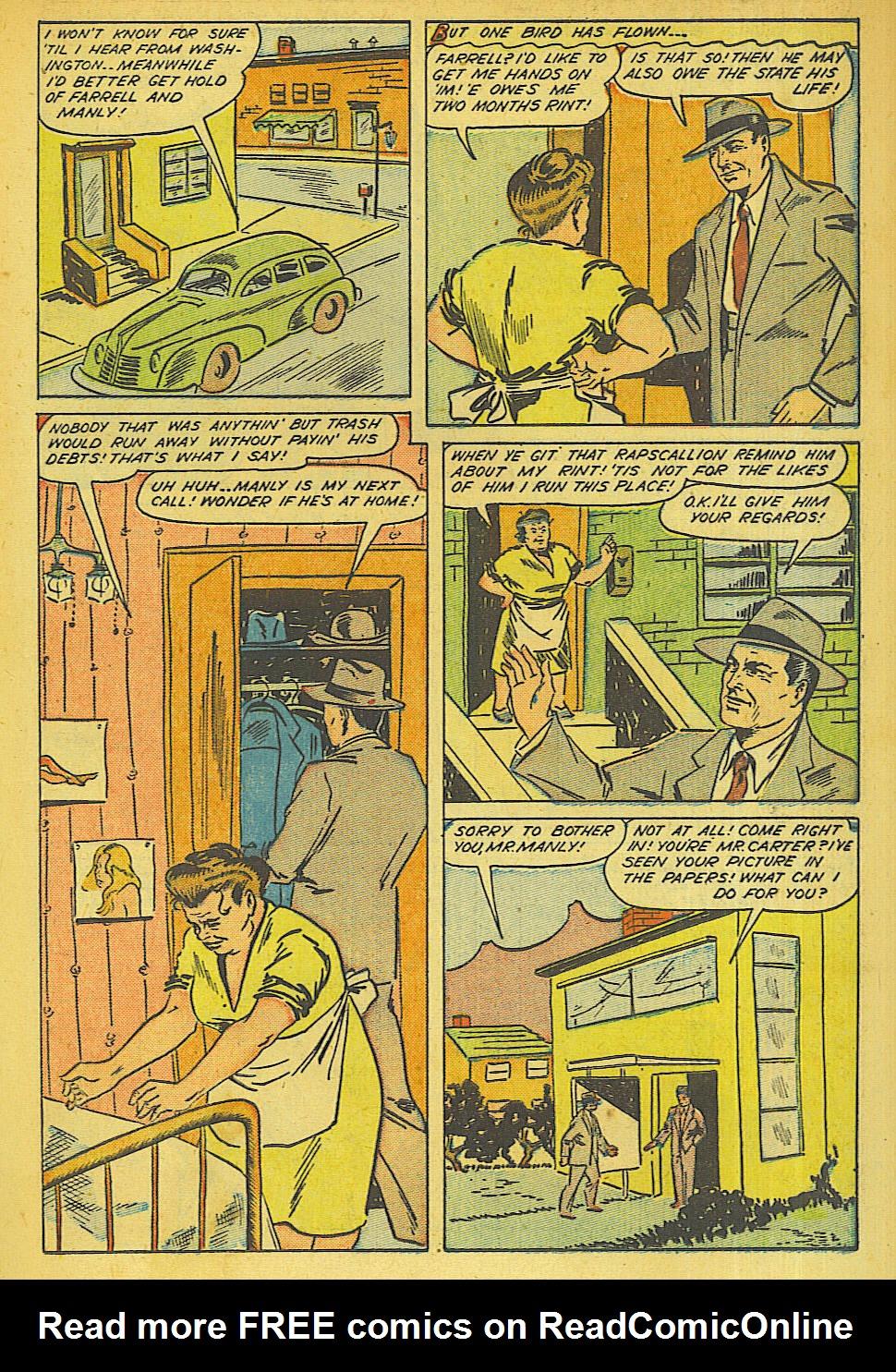 Read online Shadow Comics comic -  Issue #63 - 17