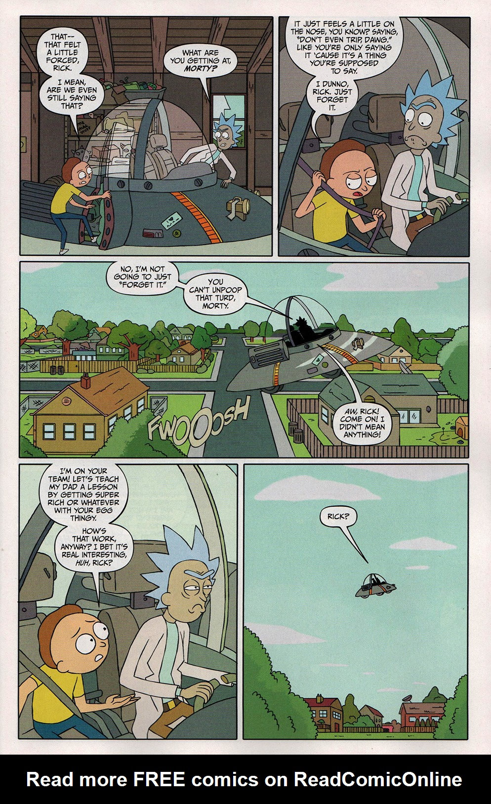 Read online Free Comic Book Day 2017 comic -  Issue # Rick and Morty - 5