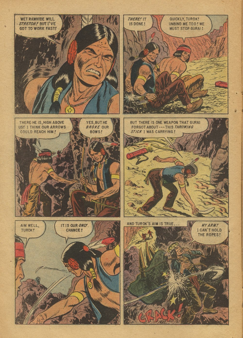 Read online Turok, Son of Stone comic -  Issue #12 - 14