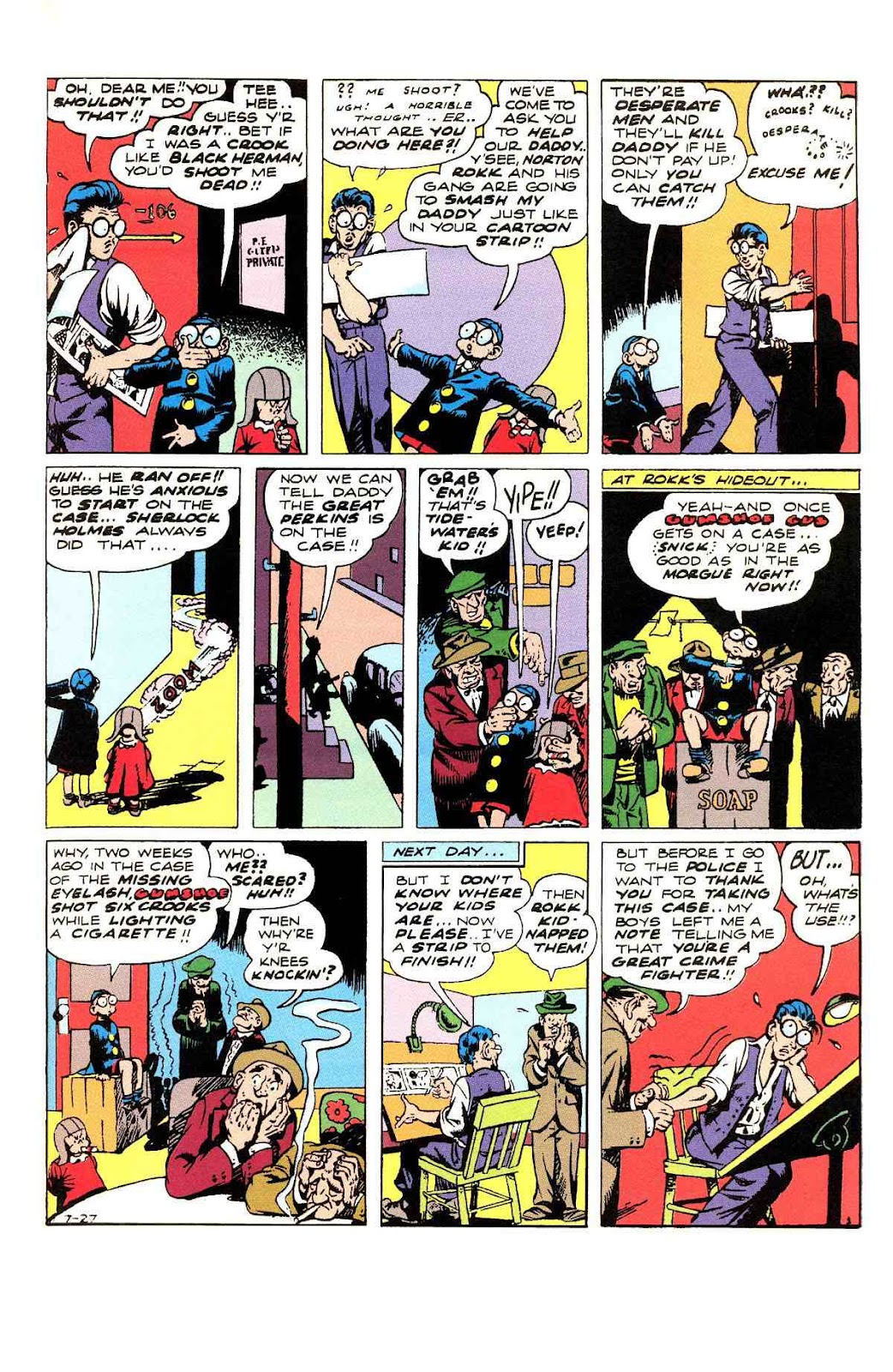 Read online Will Eisner's The Spirit Archives comic -  Issue # TPB 3 (Part 1) - 28