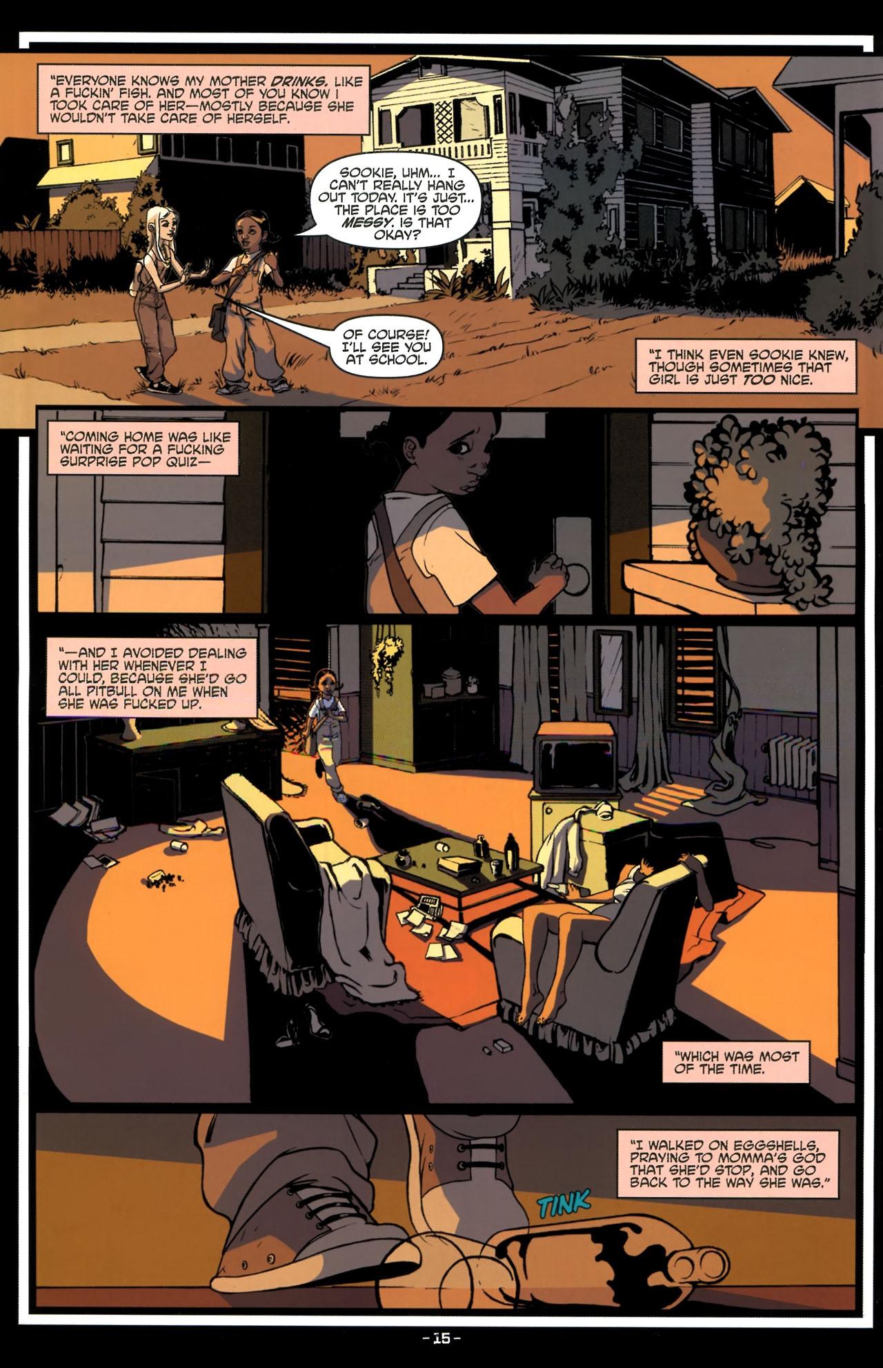 Read online True Blood (2010) comic -  Issue #3 - 17