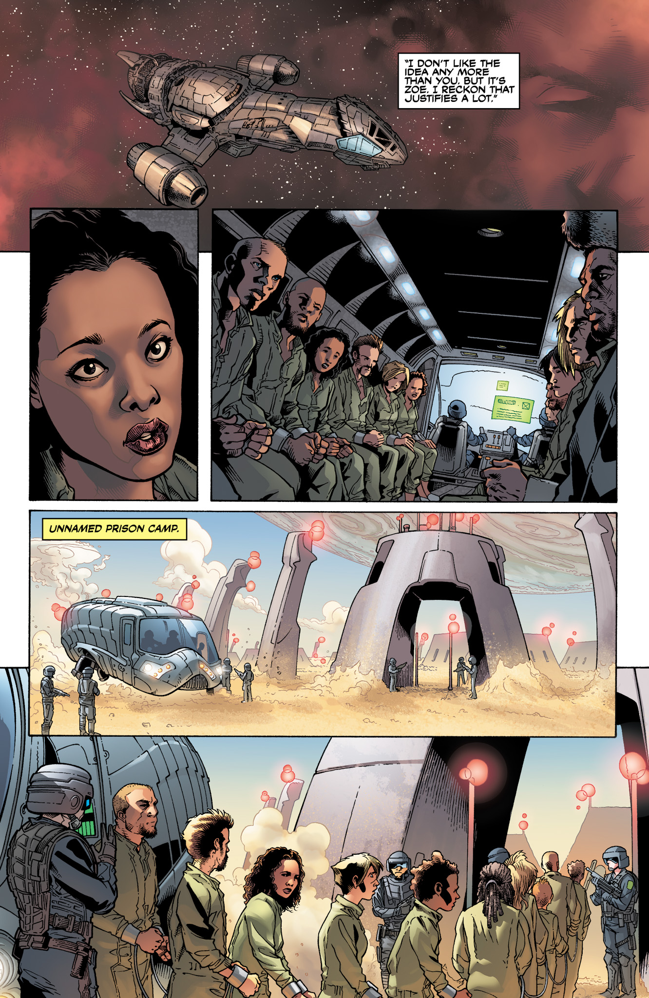 Read online Serenity: Firefly Class 03-K64  Leaves on the Wind comic -  Issue #3 - 21