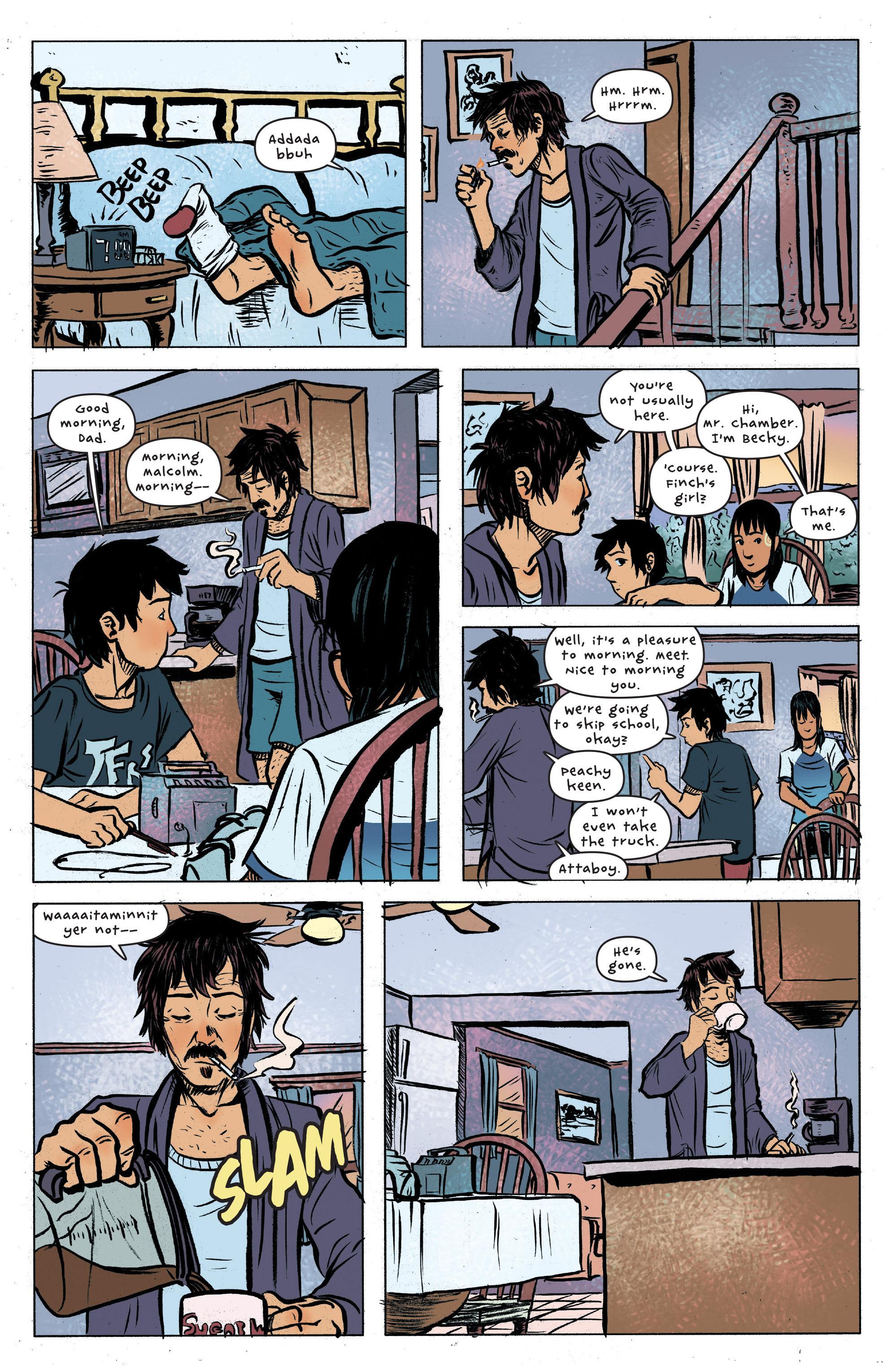 Read online UFOlogy comic -  Issue #4 - 9