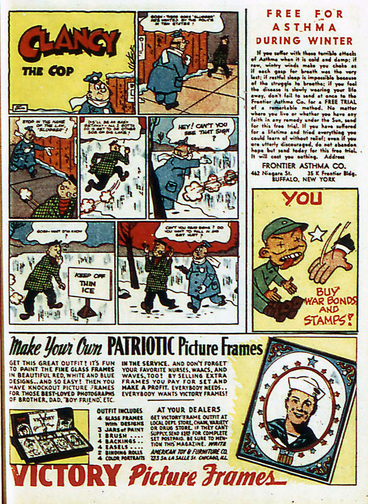 Read online Detective Comics (1937) comic -  Issue #72 - 42