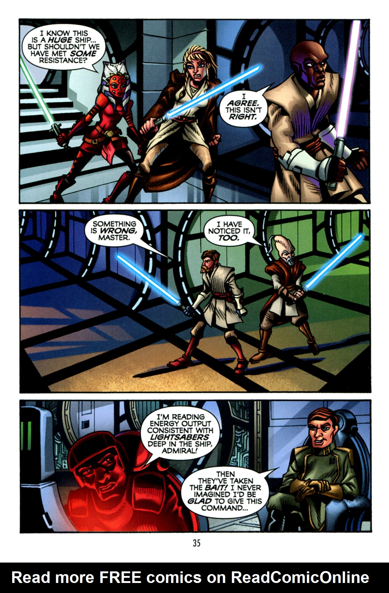 Read online Star Wars: The Clone Wars - The Starcrusher Trap comic -  Issue # Full - 36