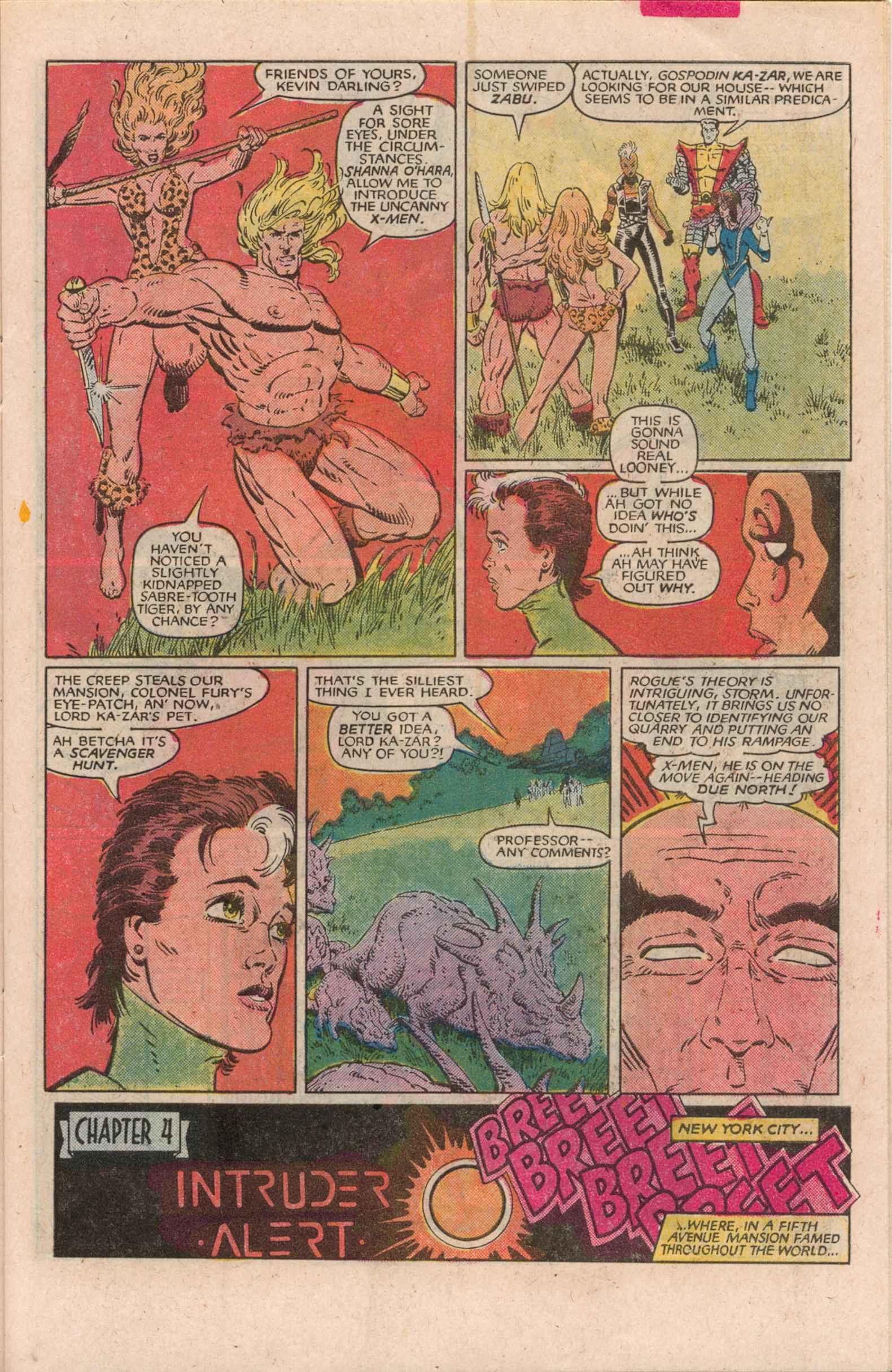 Read online Uncanny X-Men (1963) comic -  Issue # _Annual 7 - 14