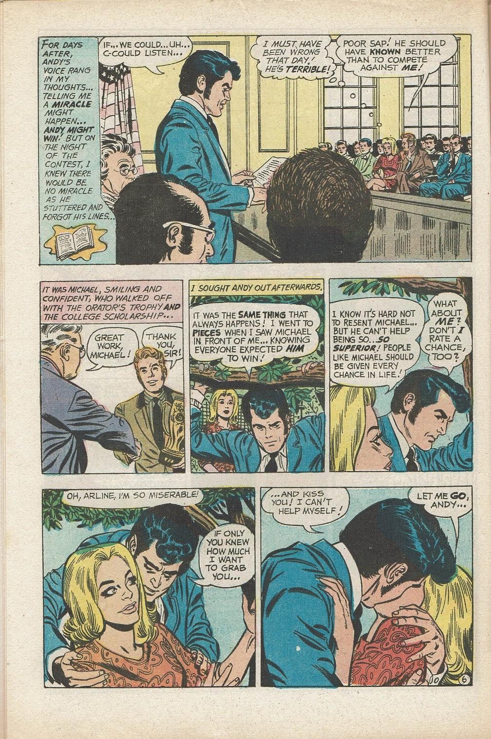 Read online Secret Hearts comic -  Issue #153 - 28