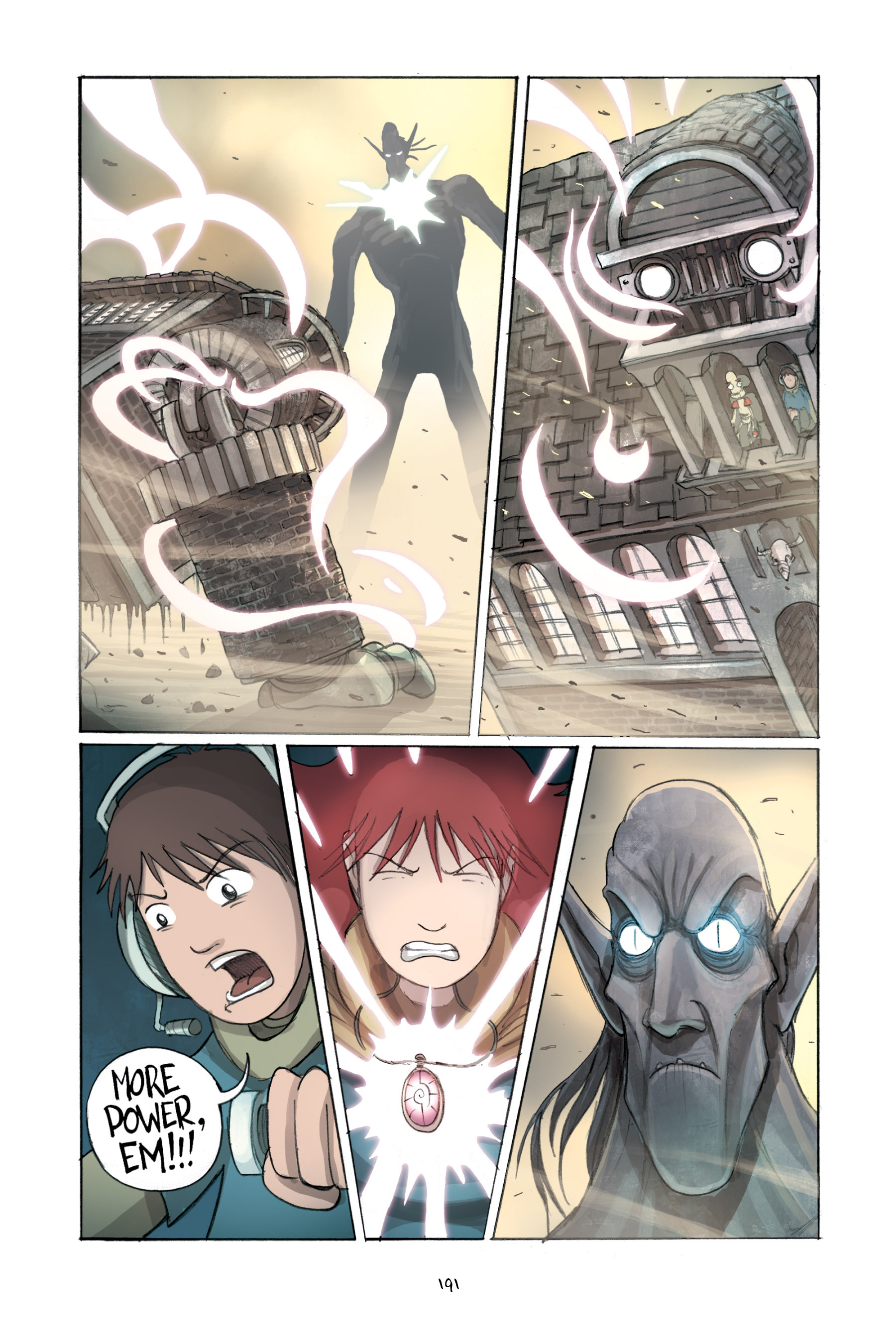 Read online Amulet comic -  Issue #2 - 190