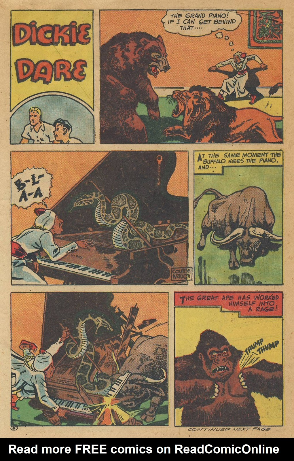 Read online Famous Funnies comic -  Issue #138 - 29